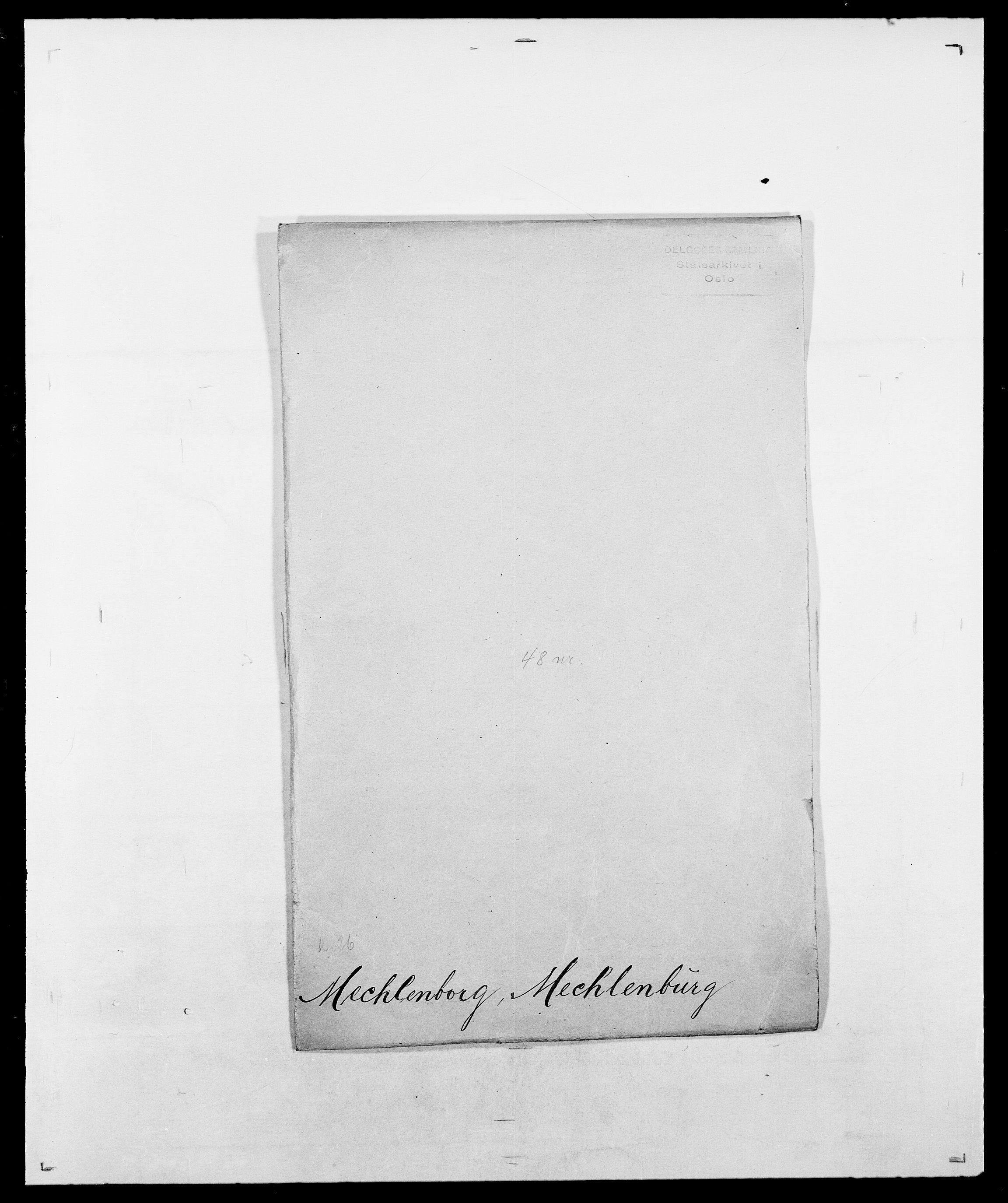 SAO, Delgobe, Charles Antoine - samling, D/Da/L0026: Mechelby - Montoppidan, s. 4