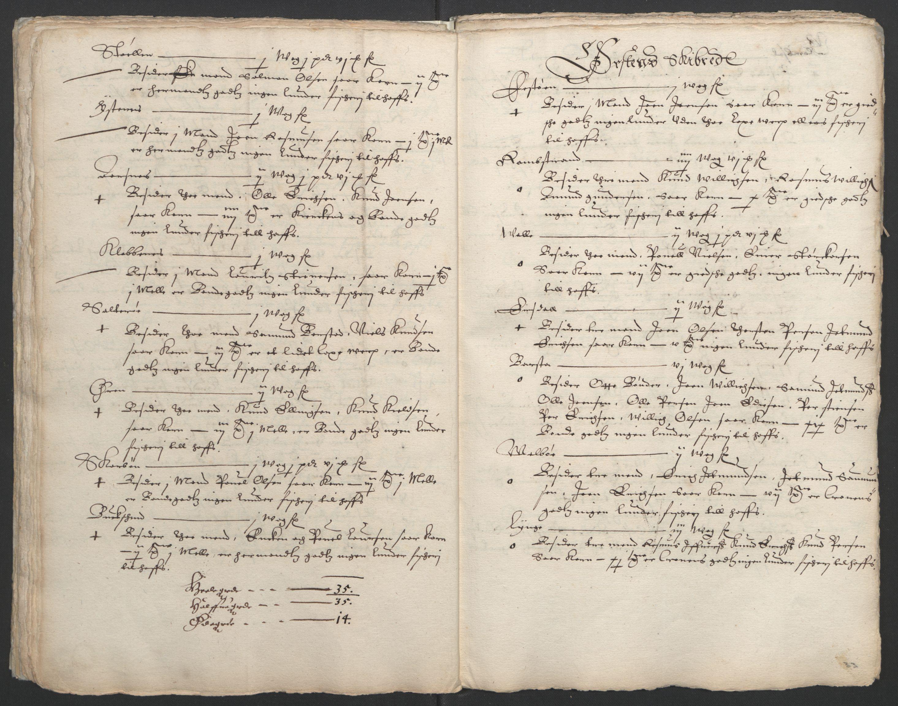 RA, Stattholderembetet 1572-1771, Ek/L0005: Jordebøker til utlikning av garnisonsskatt 1624-1626:, 1626, s. 174