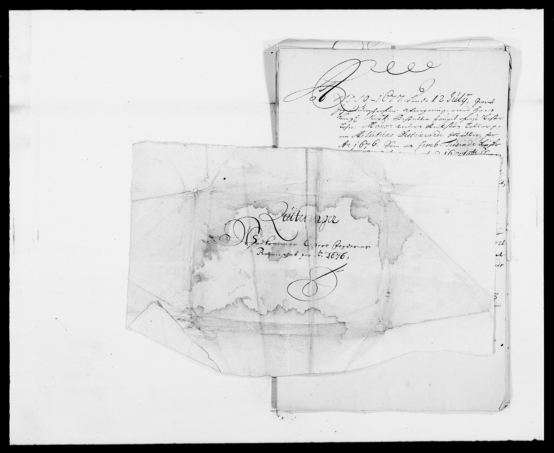 RA, Rentekammeret inntil 1814, Reviderte regnskaper, Fogderegnskap, R41/L2529: Fogderegnskap Lista, 1675-1676, s. 213