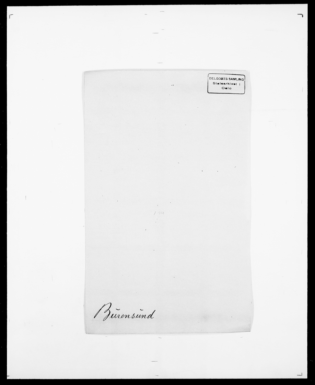 SAO, Delgobe, Charles Antoine - samling, D/Da/L0007: Buaas - Caphengst, s. 419