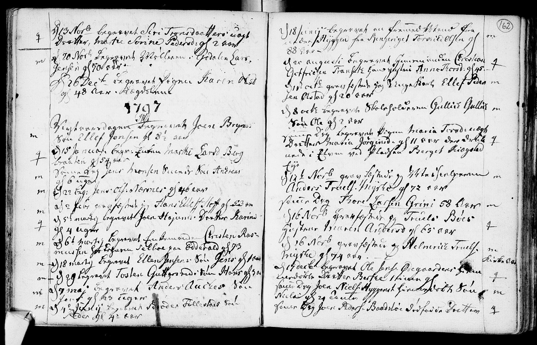 SAKO, Røyken kirkebøker, F/Fa/L0003: Ministerialbok nr. 3, 1782-1813, s. 162