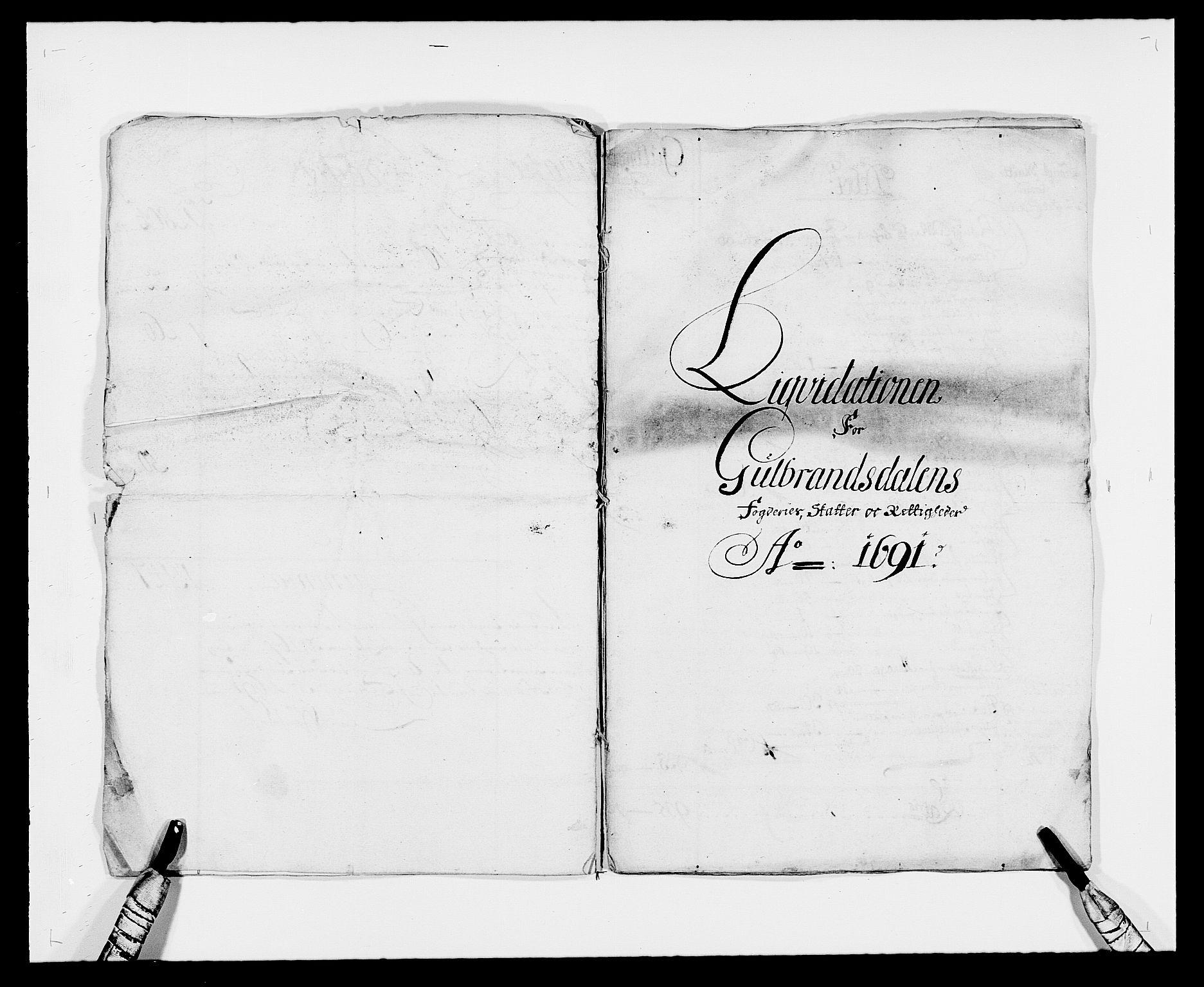 RA, Rentekammeret inntil 1814, Reviderte regnskaper, Fogderegnskap, R17/L1165: Fogderegnskap Gudbrandsdal, 1690-1692, s. 7
