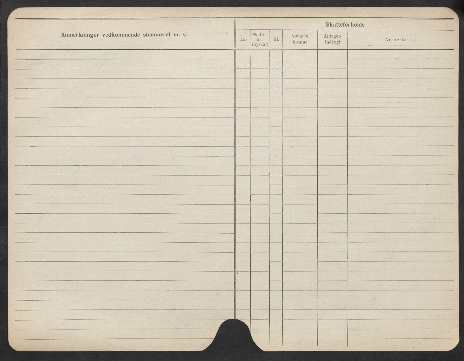 SAO, Oslo folkeregister, Registerkort, F/Fa/Fac/L0021: Kvinner, 1906-1914, s. 1050b