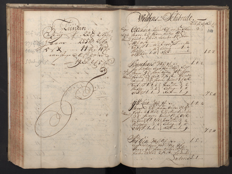 RA, Rentekammeret inntil 1814, Realistisk ordnet avdeling, N/Nb/Nbf/L0148: Sunnmøre, prøvematrikkel, 1714, s. 149b-150a