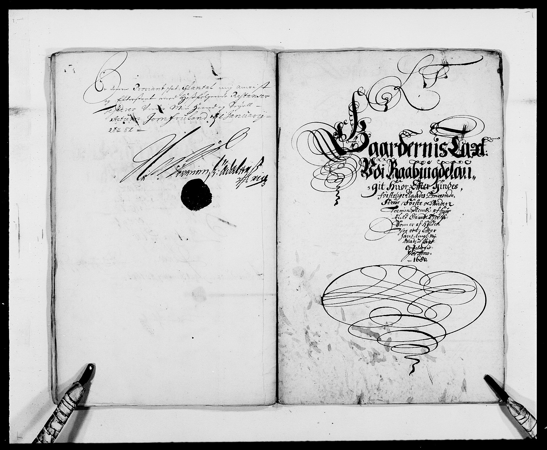 RA, Rentekammeret inntil 1814, Reviderte regnskaper, Fogderegnskap, R40/L2436: Fogderegnskap Råbyggelag, 1679-1680, s. 267