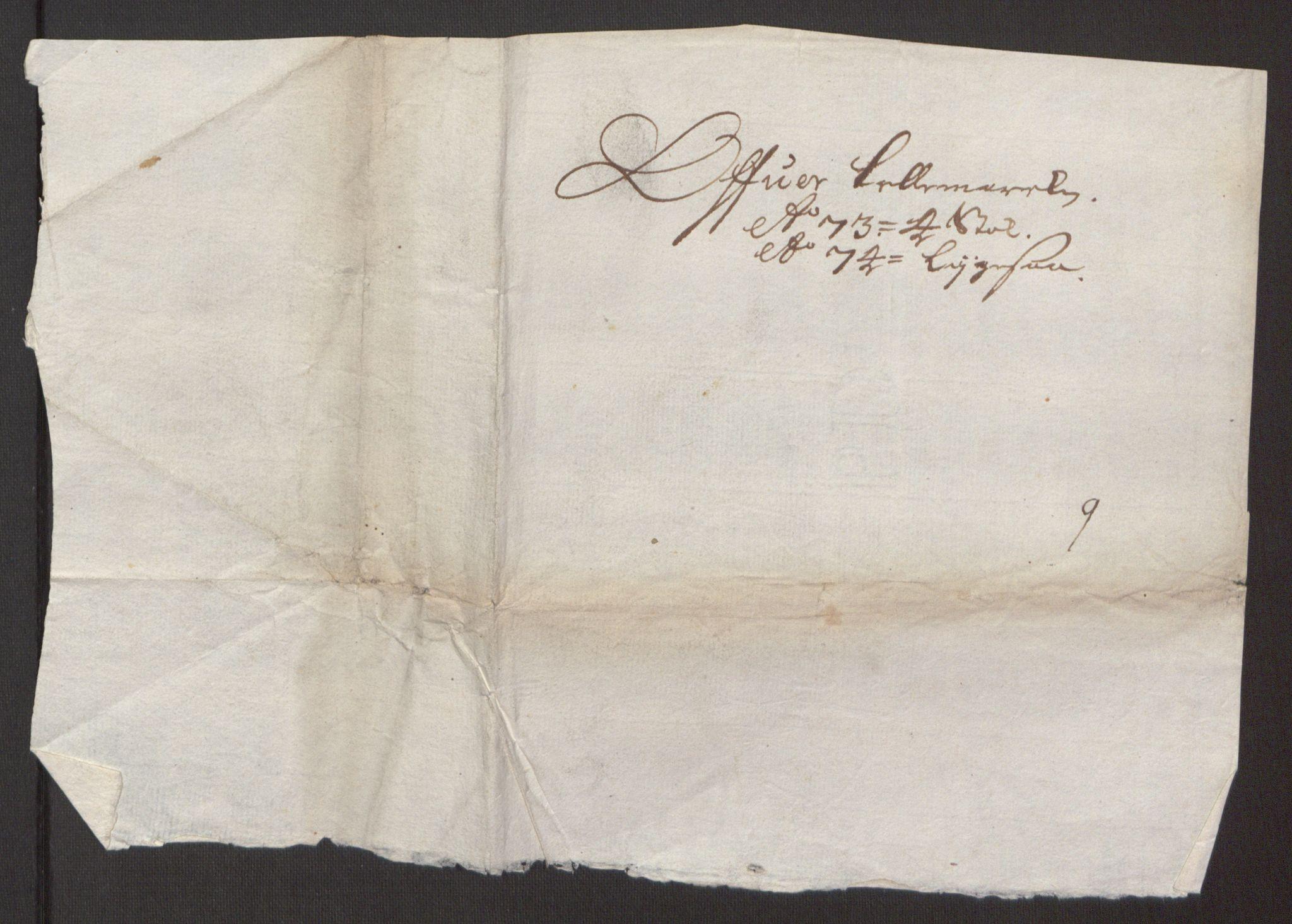 RA, Rentekammeret inntil 1814, Reviderte regnskaper, Fogderegnskap, R35/L2061: Fogderegnskap Øvre og Nedre Telemark, 1673-1674, s. 214