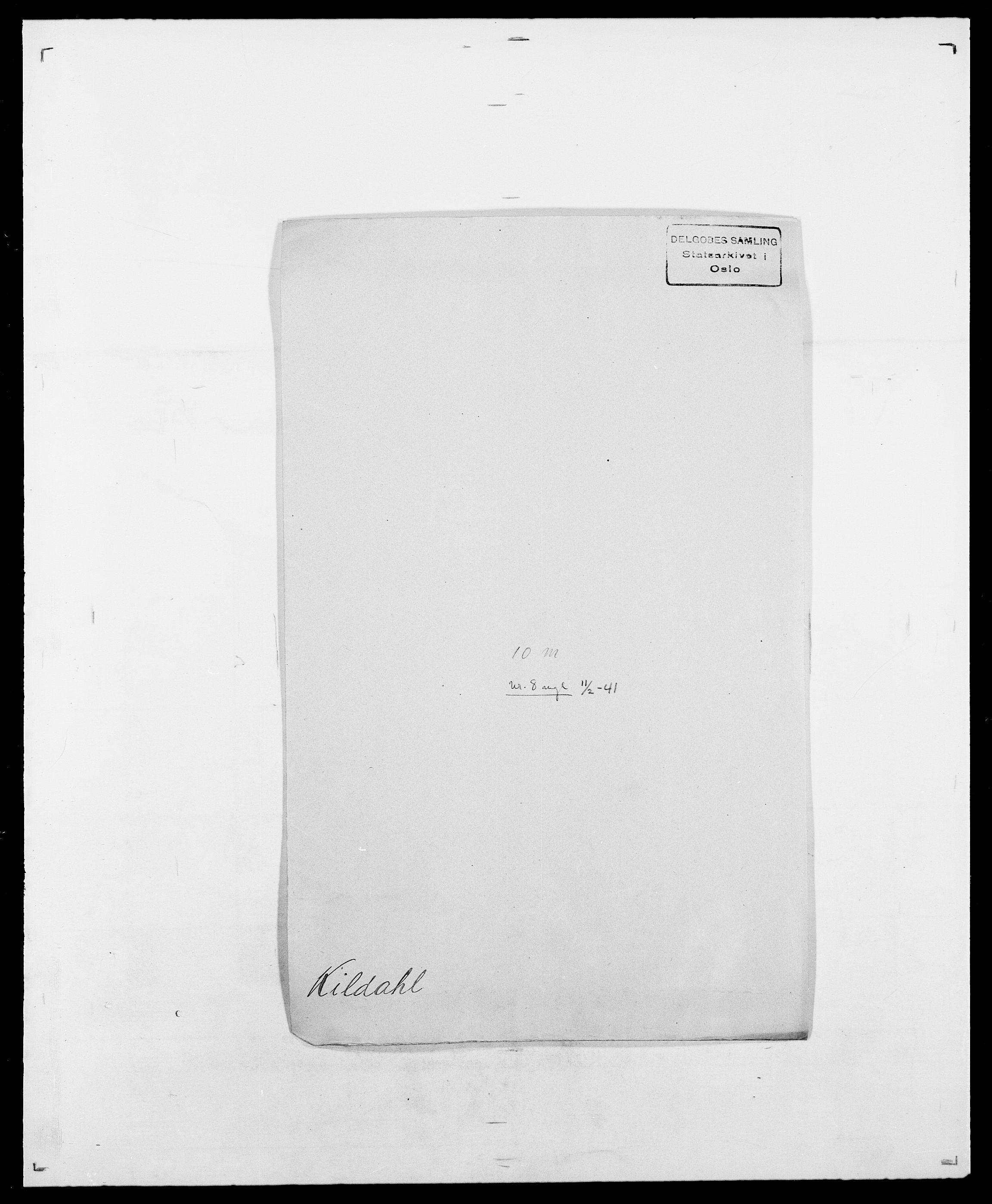 SAO, Delgobe, Charles Antoine - samling, D/Da/L0020: Irgens - Kjøsterud, s. 584