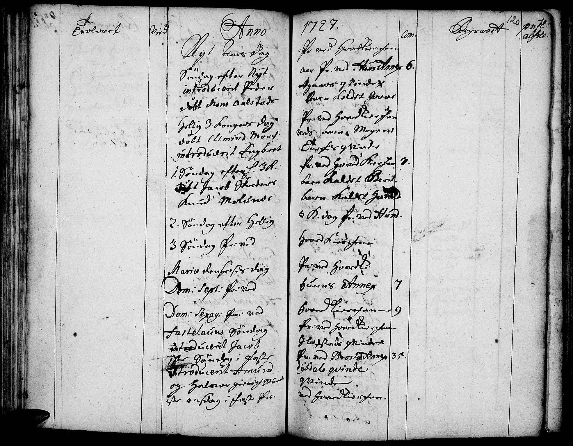 SAH, Vardal prestekontor, H/Ha/Haa/L0001: Ministerialbok nr. 1, 1706-1748, s. 120