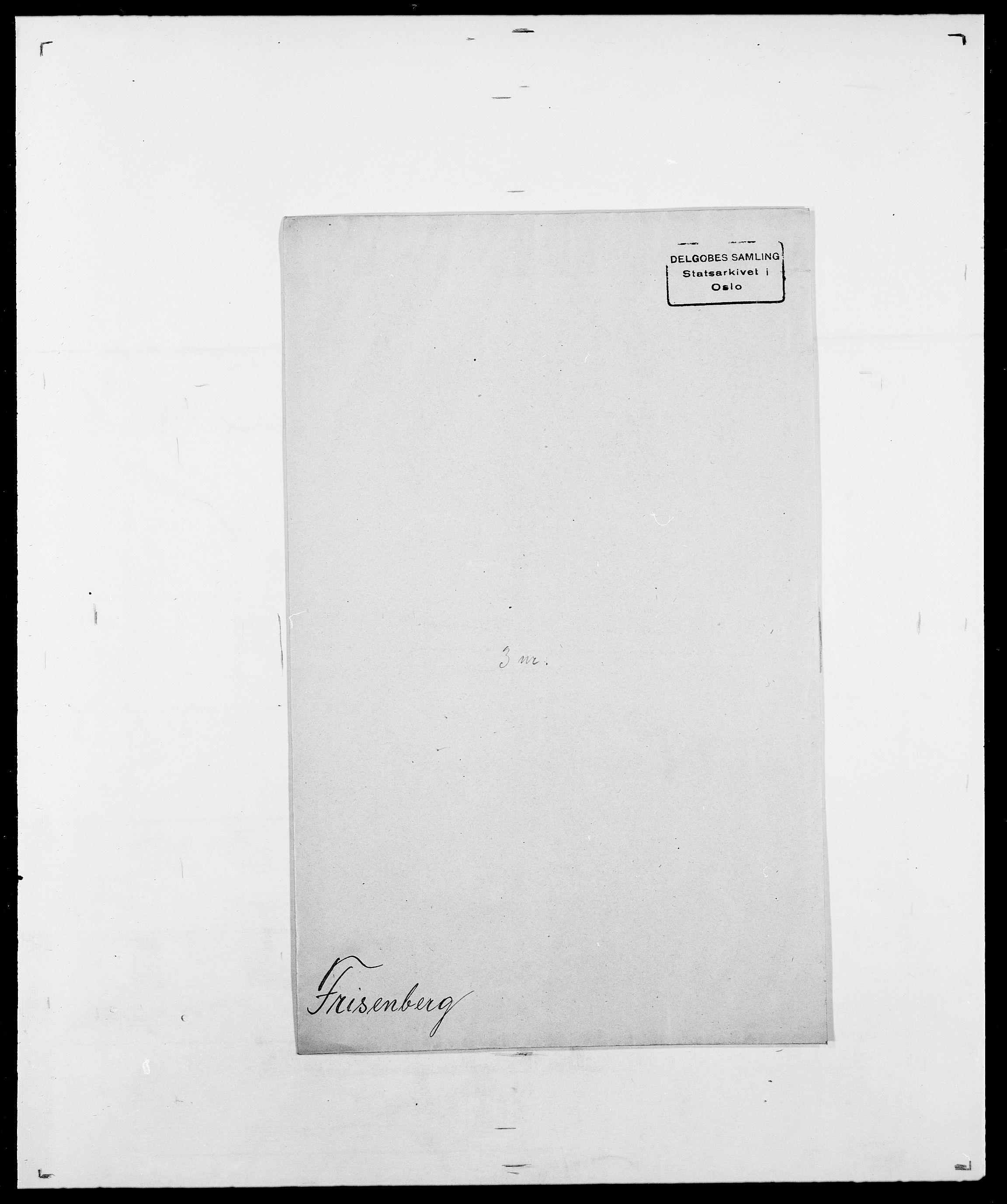 SAO, Delgobe, Charles Antoine - samling, D/Da/L0012: Flor, Floer, Flohr - Fritzner, s. 1037