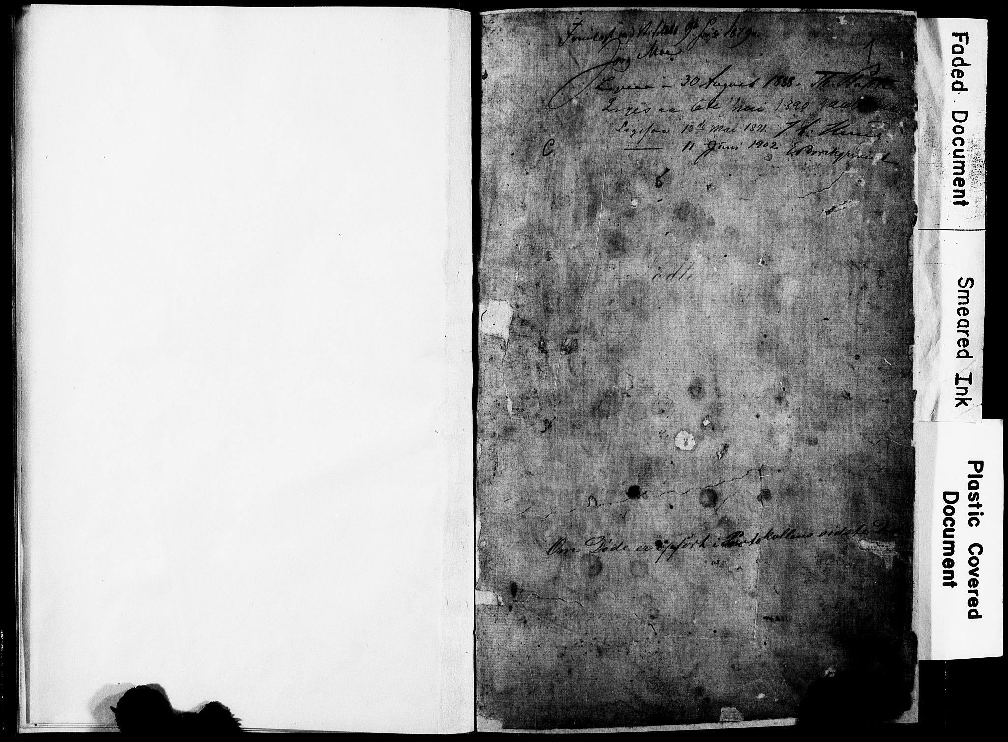 SAST, Torvastad sokneprestkontor, H/Ha/Hab/L0005: Klokkerbok nr. B 5, 1857-1908