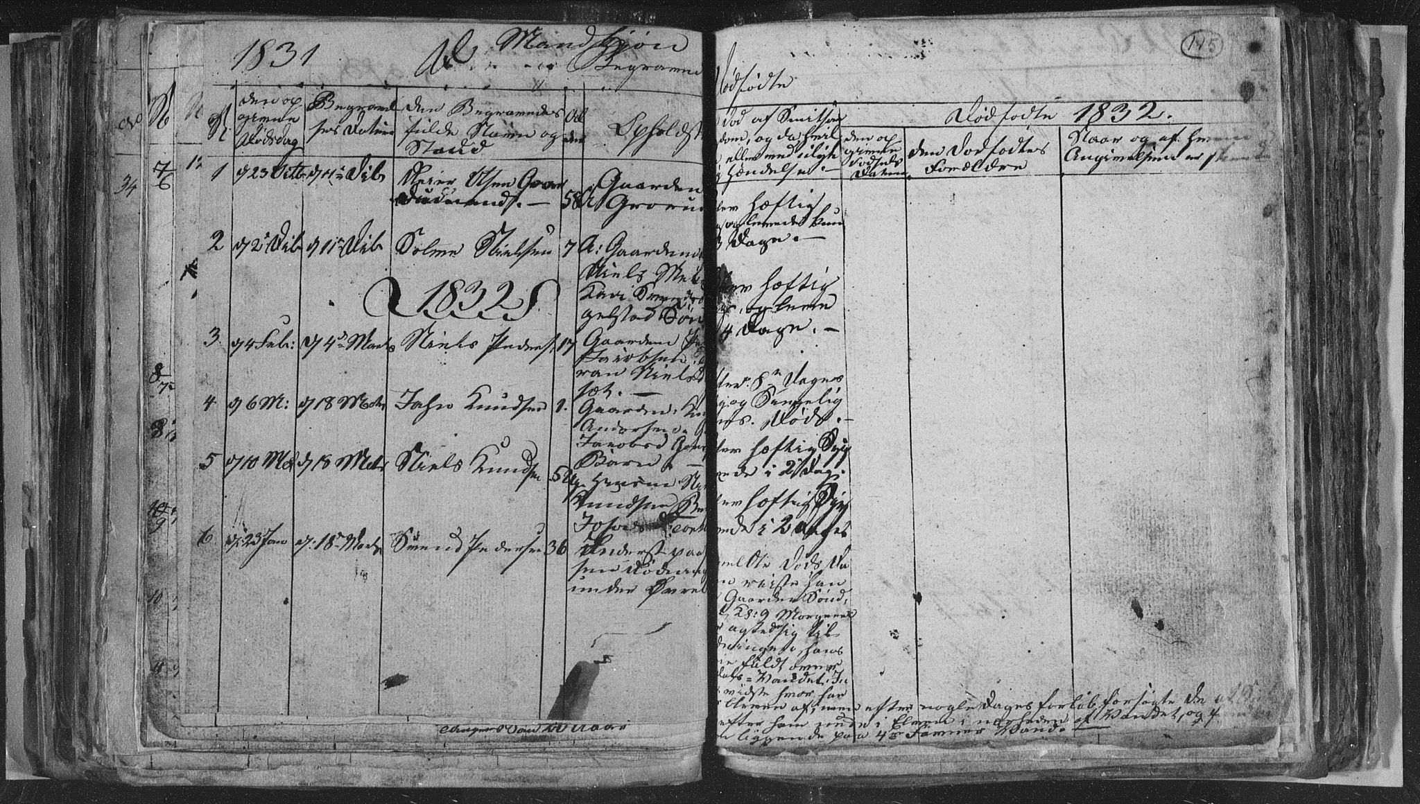 SAKO, Siljan kirkebøker, G/Ga/L0001: Klokkerbok nr. 1, 1827-1847, s. 115