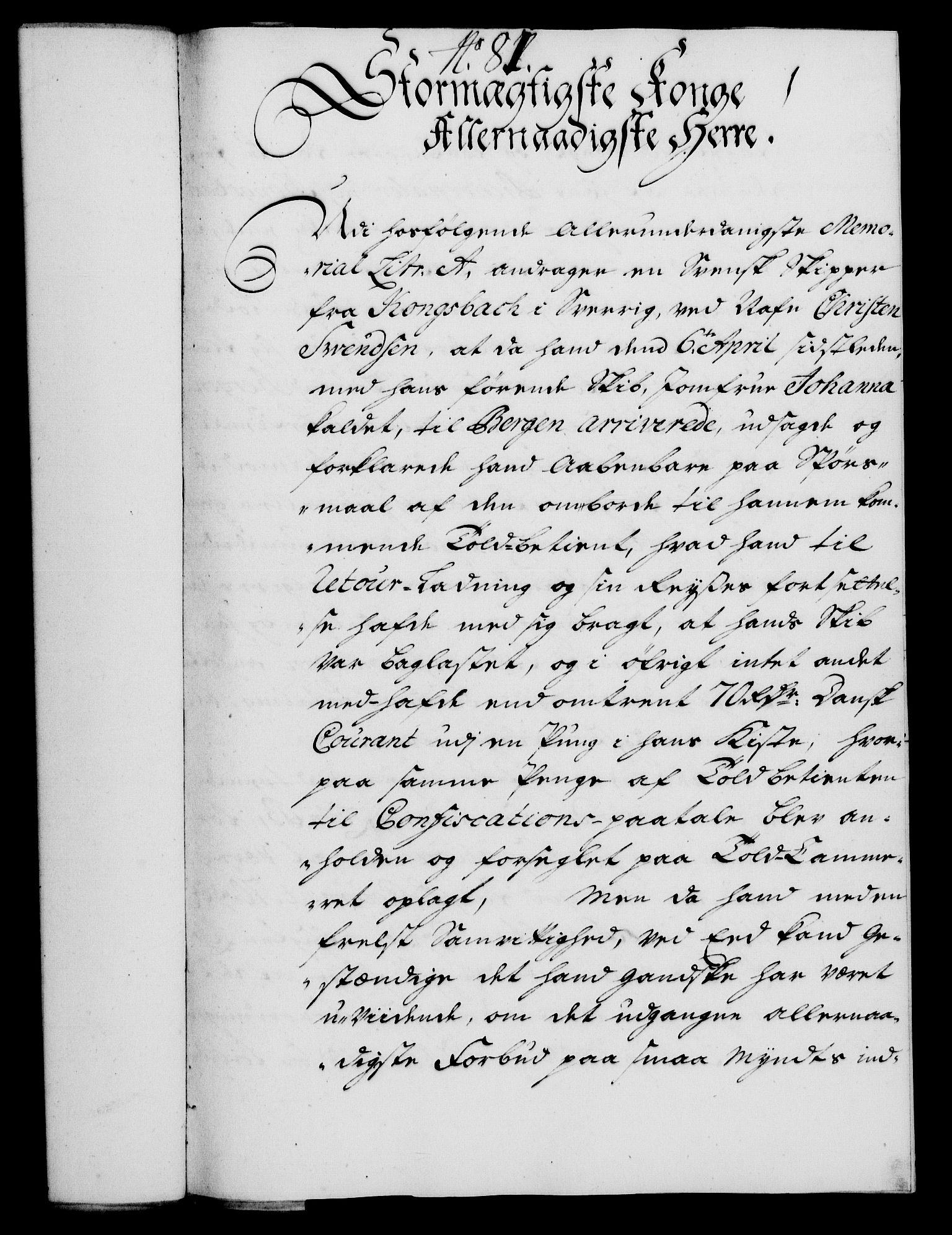 RA, Rentekammeret, Kammerkanselliet, G/Gf/Gfa/L0018: Norsk relasjons- og resolusjonsprotokoll (merket RK 52.18), 1735, s. 536