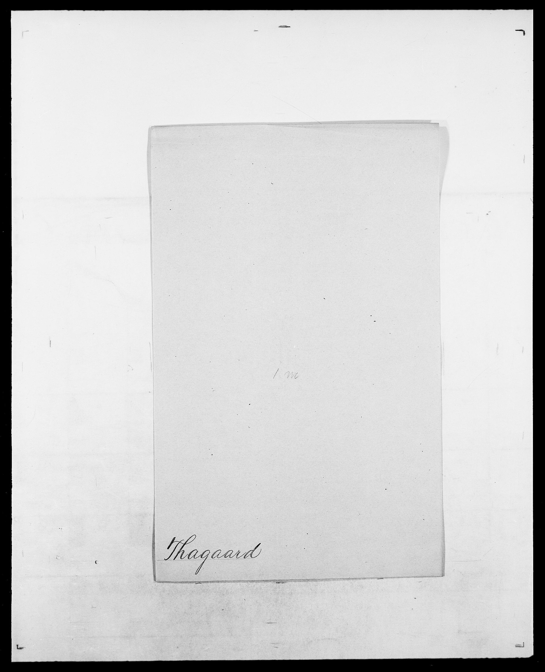 SAO, Delgobe, Charles Antoine - samling, D/Da/L0038: Svanenskjold - Thornsohn, s. 433