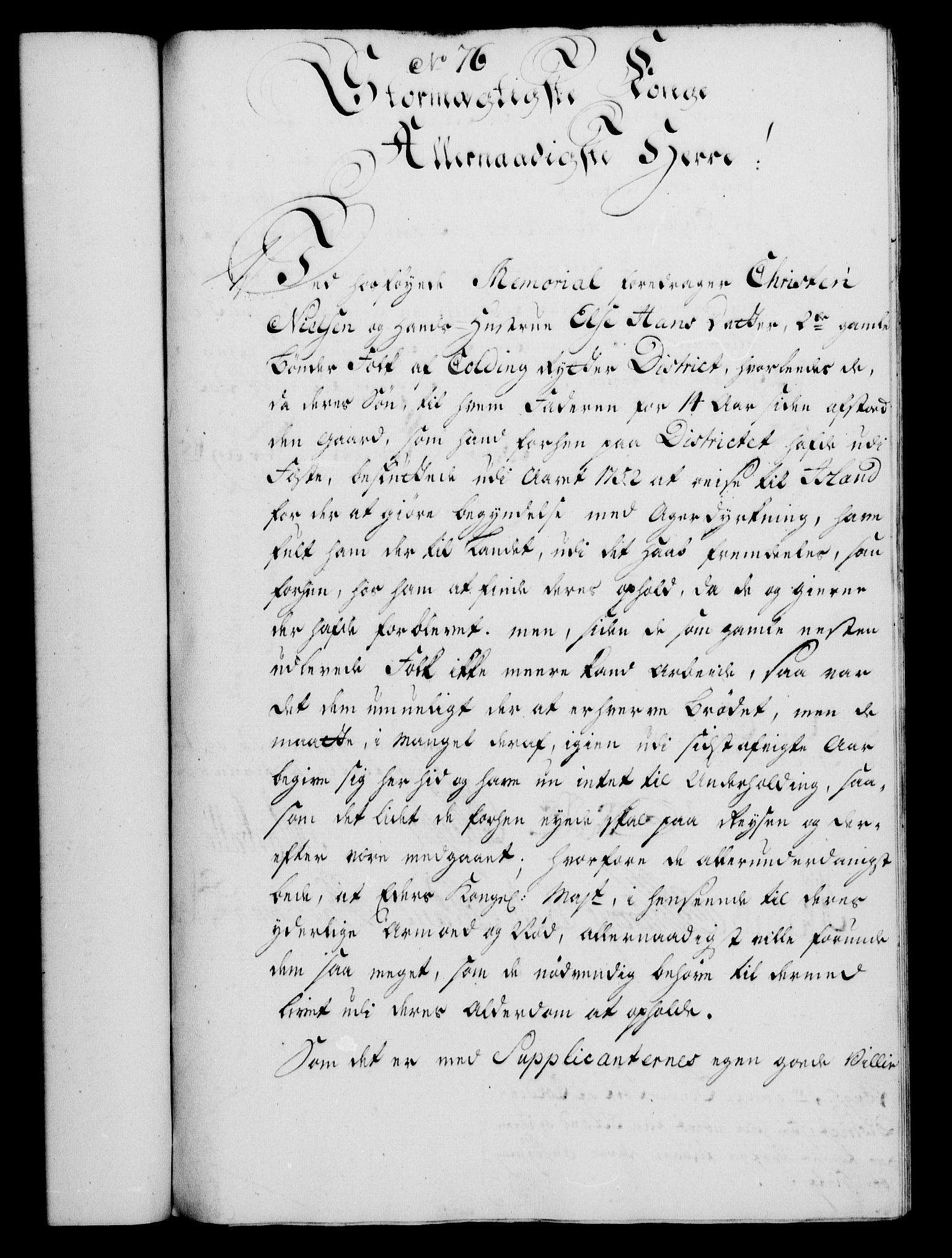 RA, Rentekammeret, Kammerkanselliet, G/Gf/Gfa/L0036: Norsk relasjons- og resolusjonsprotokoll (merket RK 52.36), 1754, s. 466