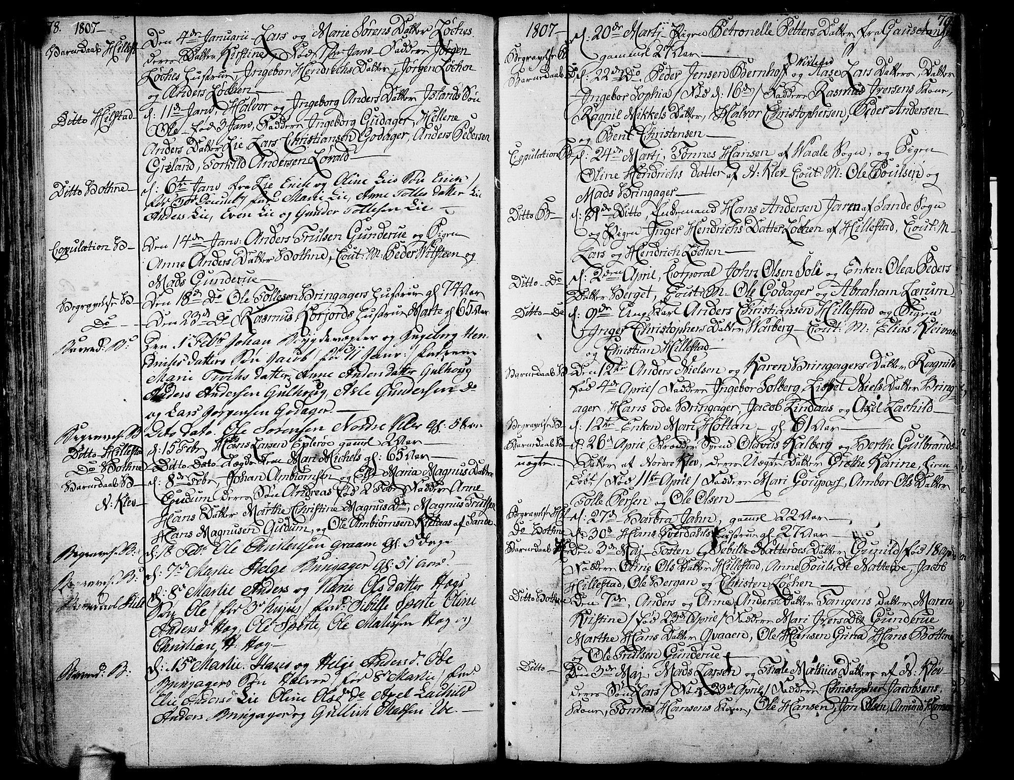 SAKO, Botne kirkebøker, F/Fa/L0003: Ministerialbok nr. I 3 /1, 1792-1844, s. 78-79