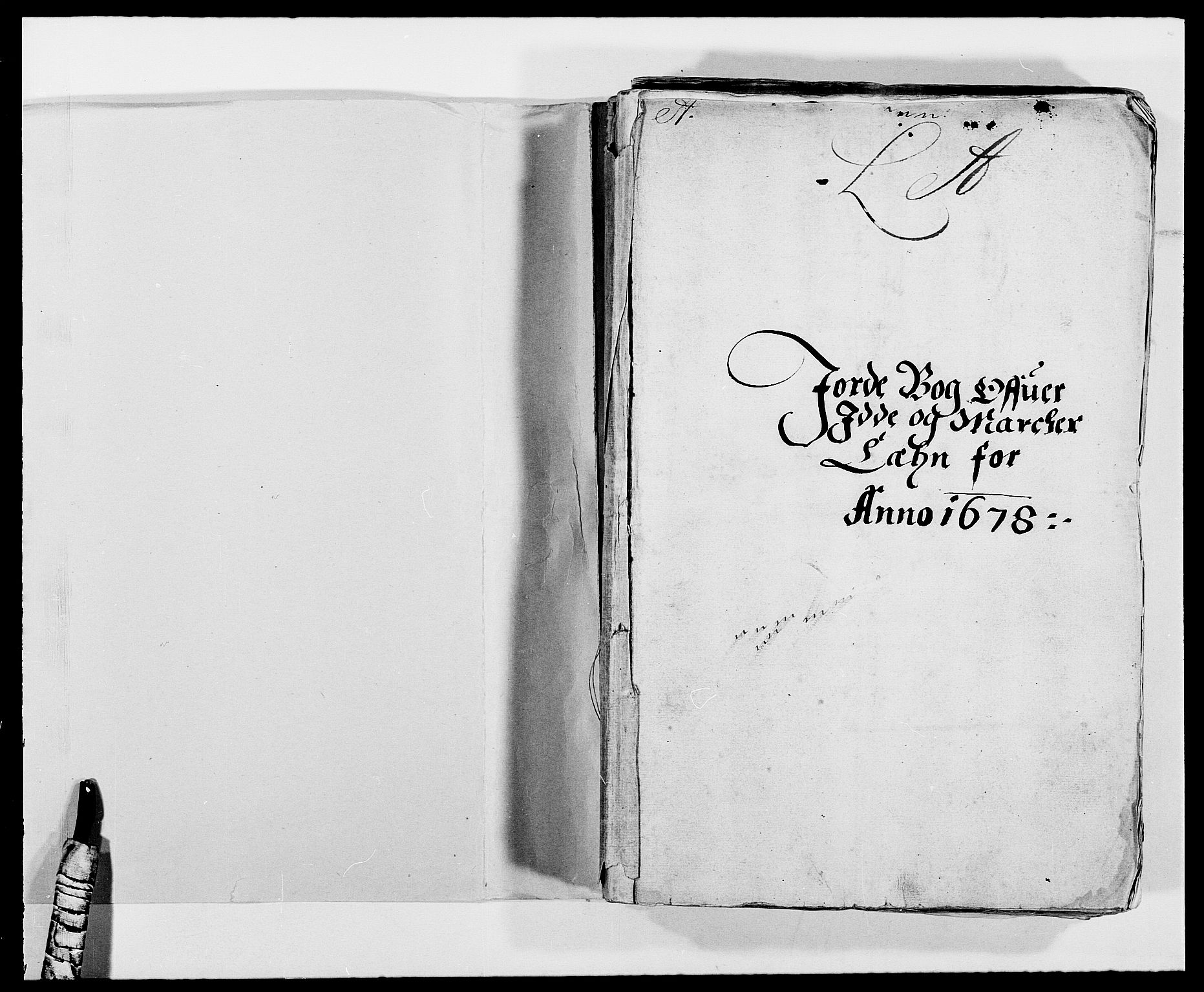 RA, Rentekammeret inntil 1814, Reviderte regnskaper, Fogderegnskap, R01/L0001: Fogderegnskap Idd og Marker, 1678-1679, s. 2