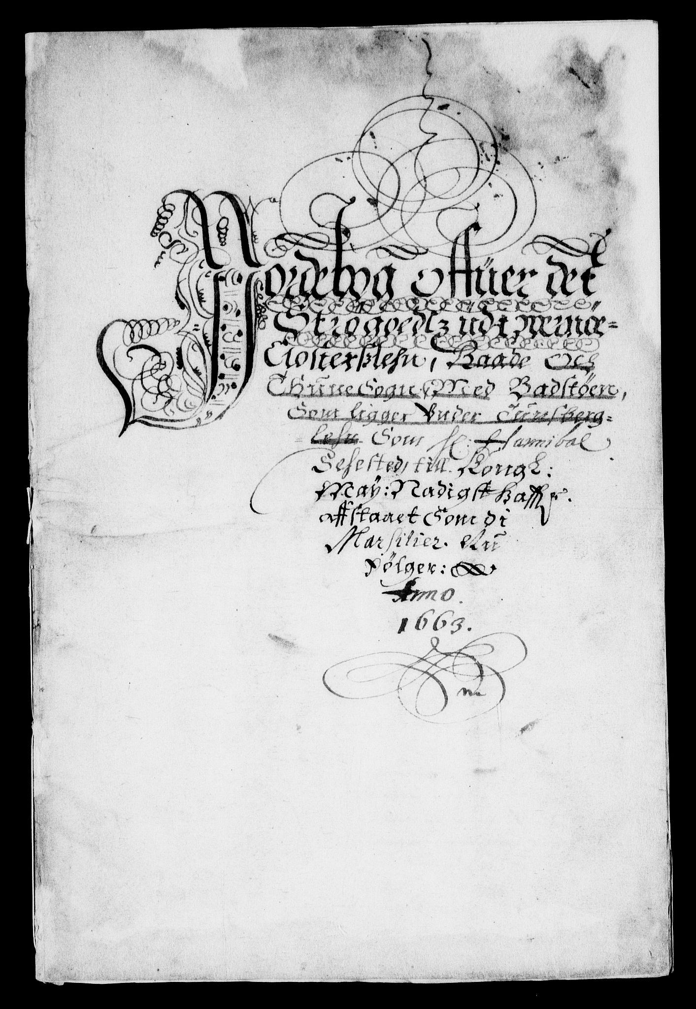 RA, Rentekammeret inntil 1814, Realistisk ordnet avdeling, On/L0007: [Jj 8]: Jordebøker og dokumenter innlevert til kongelig kommisjon 1672: Verne klosters gods, 1658-1672, s. 97