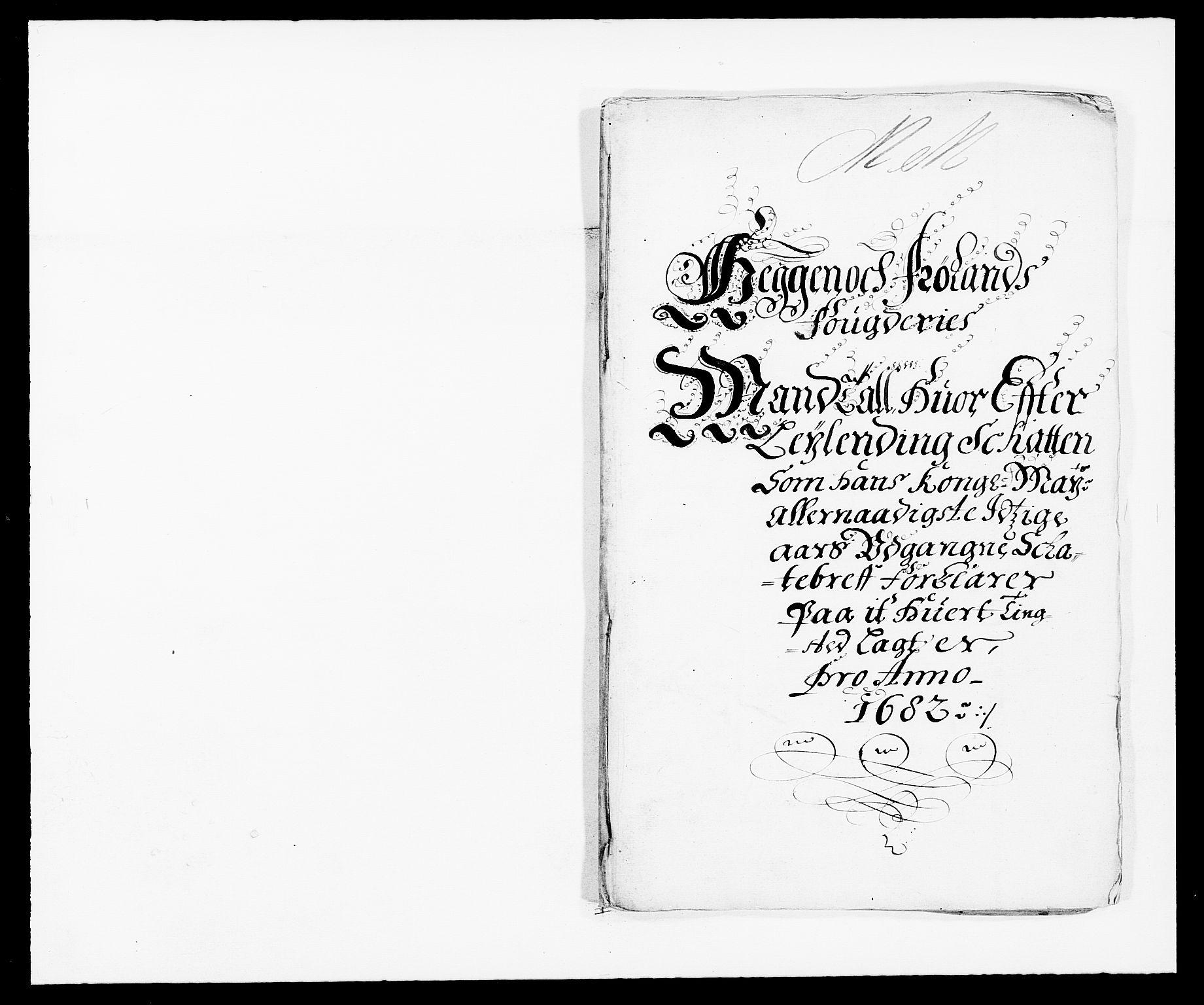 RA, Rentekammeret inntil 1814, Reviderte regnskaper, Fogderegnskap, R06/L0280: Fogderegnskap Heggen og Frøland, 1681-1684, s. 254