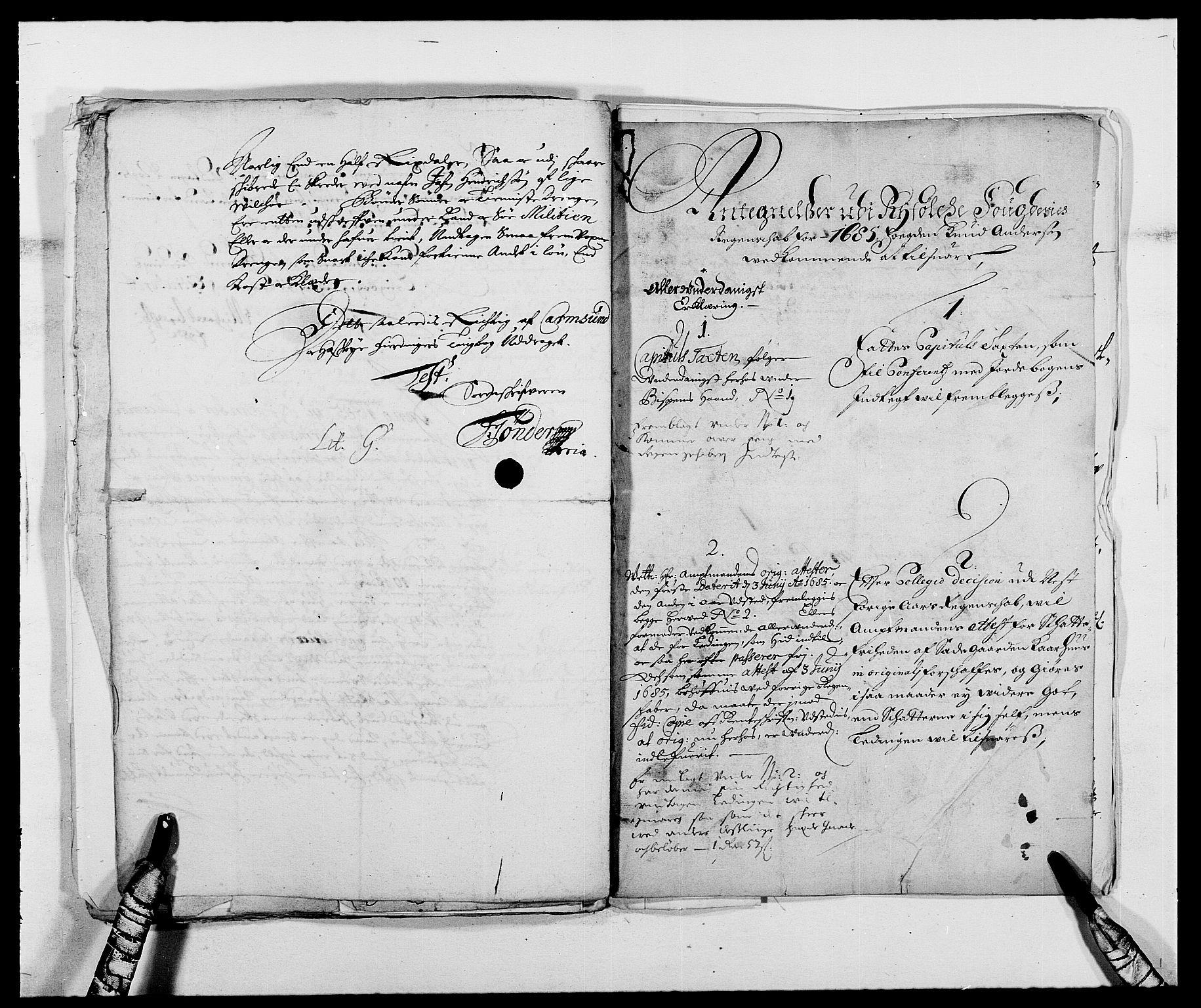 RA, Rentekammeret inntil 1814, Reviderte regnskaper, Fogderegnskap, R47/L2855: Fogderegnskap Ryfylke, 1685-1688, s. 106