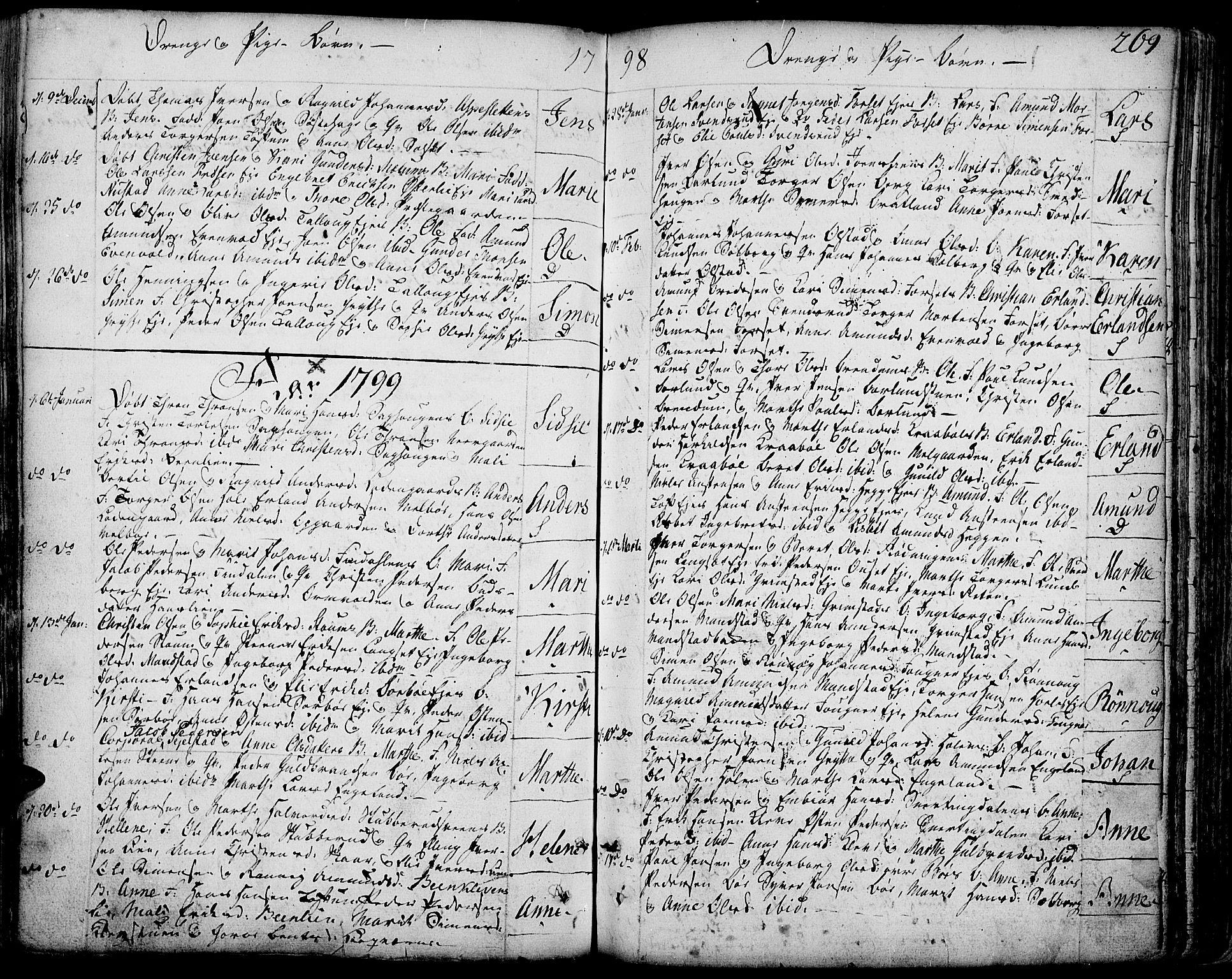 SAH, Gausdal prestekontor, Ministerialbok nr. 3, 1758-1809, s. 269