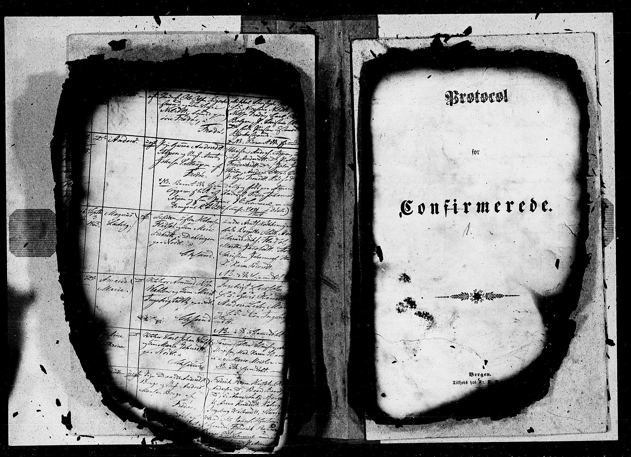 SAT, Ministerialprotokoller, klokkerbøker og fødselsregistre - Møre og Romsdal, 572/L0846: Ministerialbok nr. 572A09, 1855-1865, s. 1