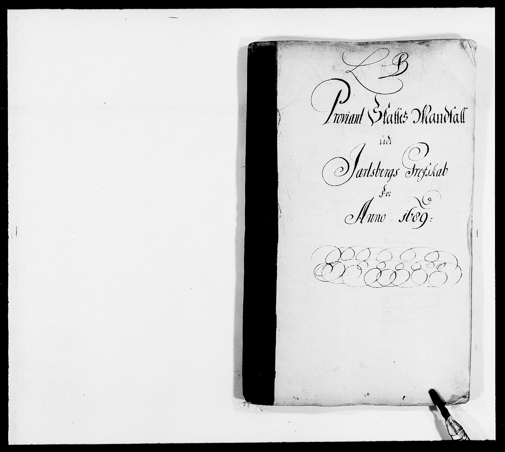 RA, Rentekammeret inntil 1814, Reviderte regnskaper, Fogderegnskap, R32/L1860: Fogderegnskap Jarlsberg grevskap, 1686-1690, s. 79