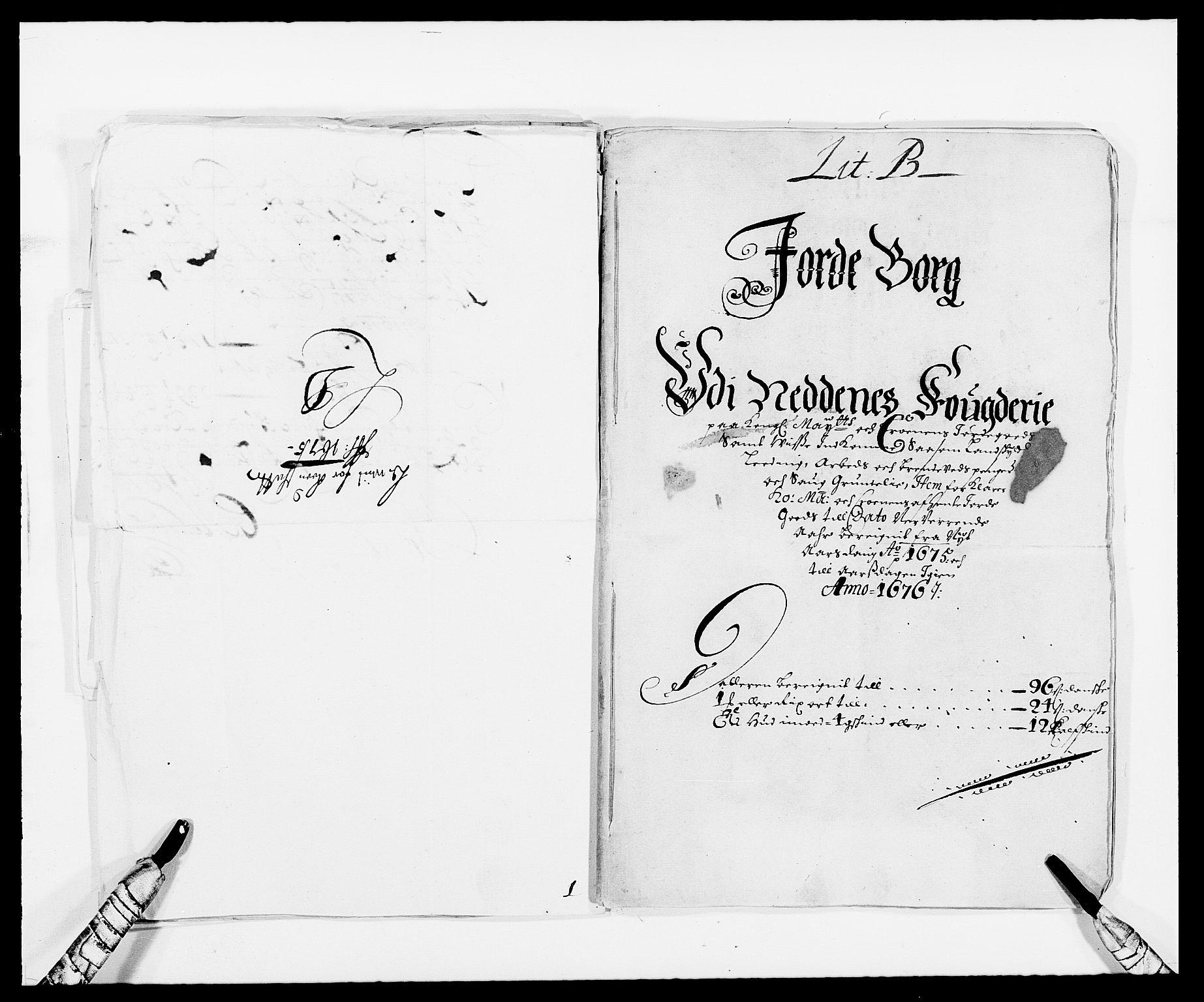 RA, Rentekammeret inntil 1814, Reviderte regnskaper, Fogderegnskap, R39/L2301: Fogderegnskap Nedenes, 1675-1676, s. 24