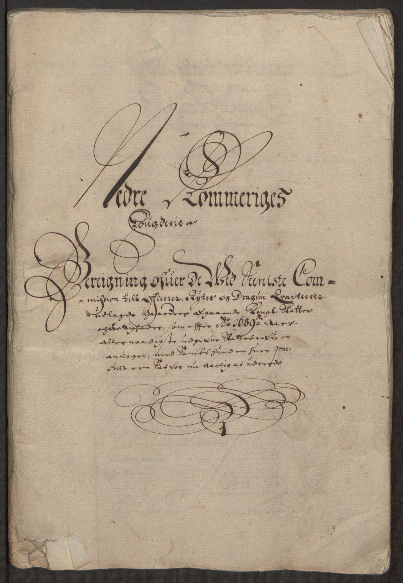 RA, Rentekammeret inntil 1814, Reviderte regnskaper, Fogderegnskap, R11/L0575: Fogderegnskap Nedre Romerike, 1691, s. 219