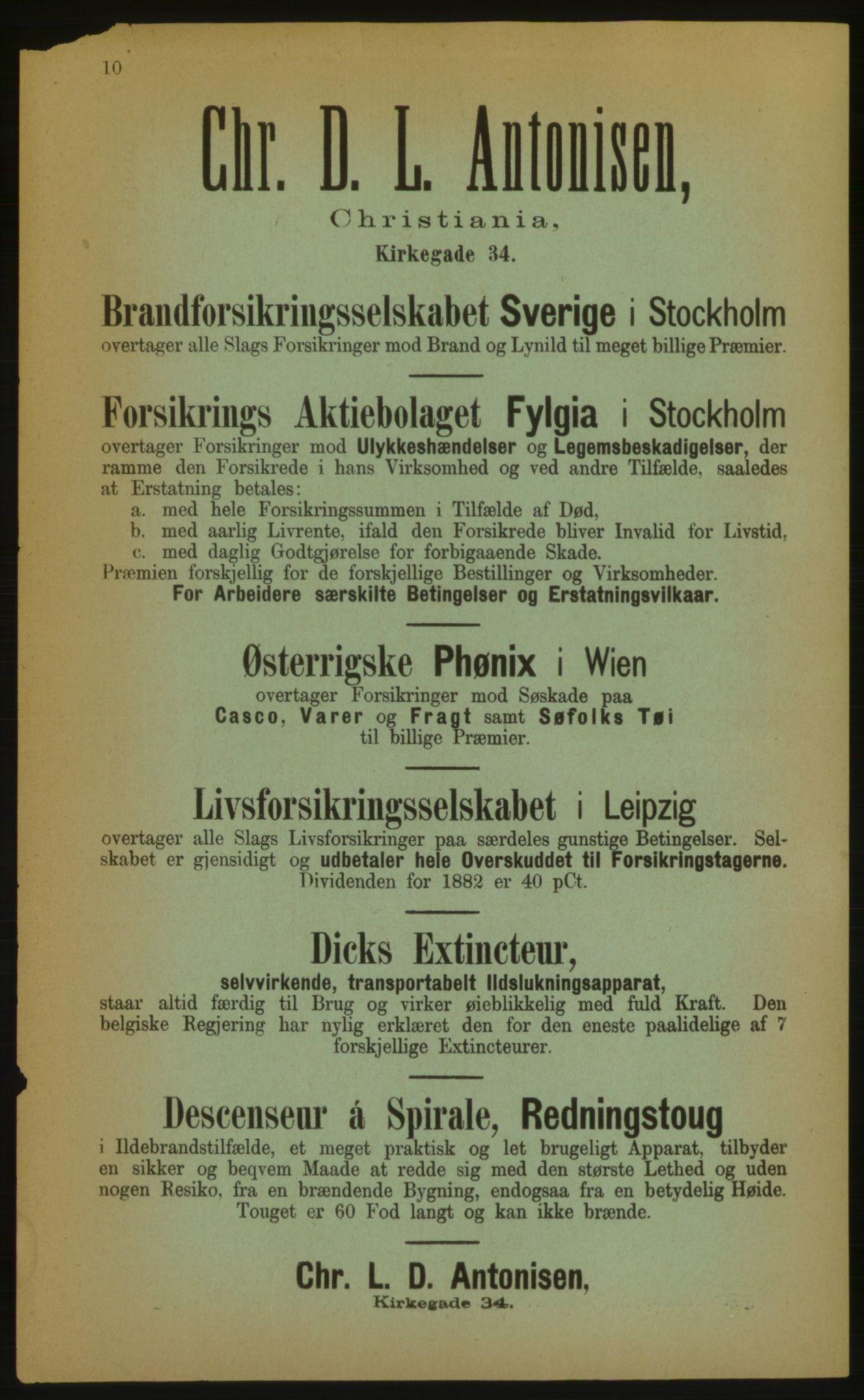 PUBL, Kristiania/Oslo adressebok, 1883, s. 10