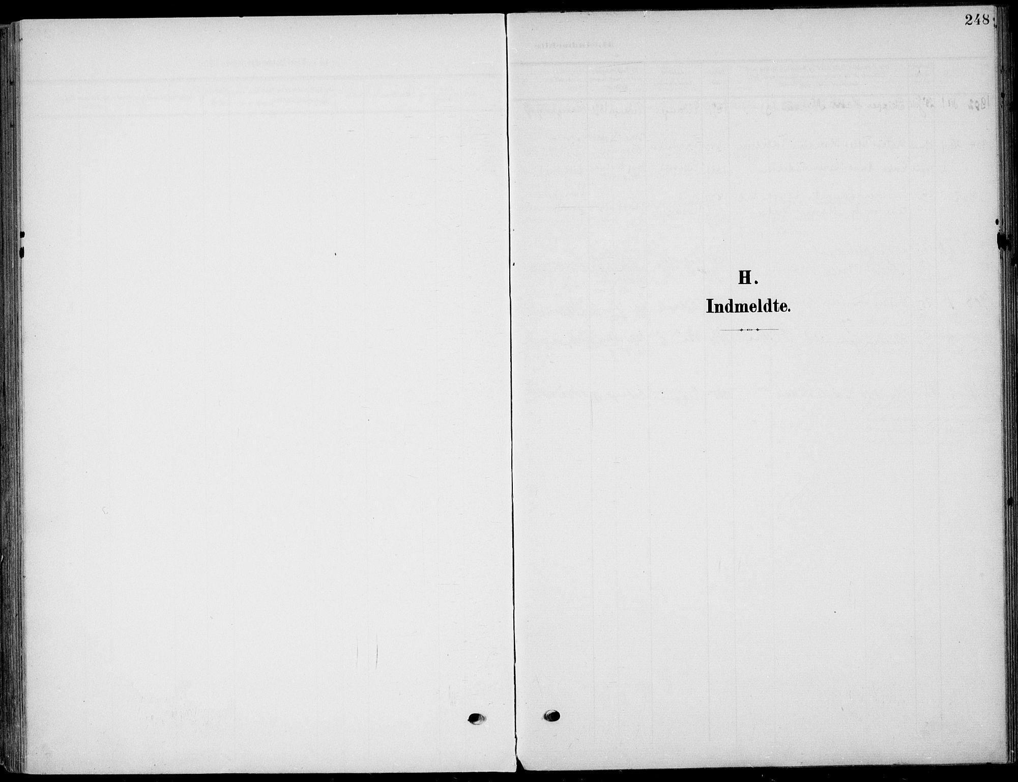 SAKO, Eidanger kirkebøker, F/Fa/L0013: Ministerialbok nr. 13, 1900-1913, s. 248