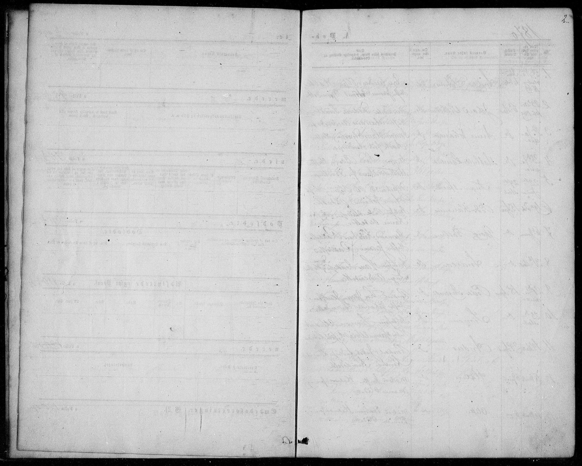 SAKO, Langesund kirkebøker, F/Fa/L0001: Ministerialbok nr. 1, 1870-1877, s. 2