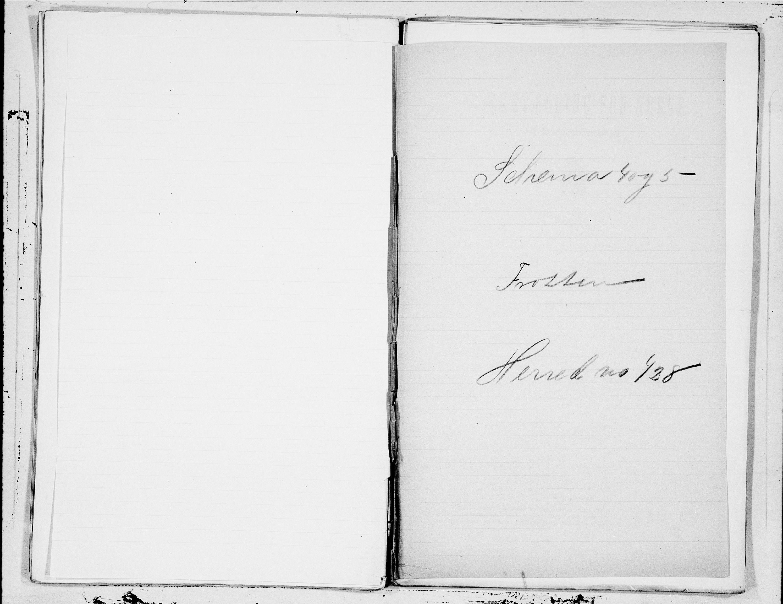 SAT, Folketelling 1900 for 1717 Frosta herred, 1900, s. 1