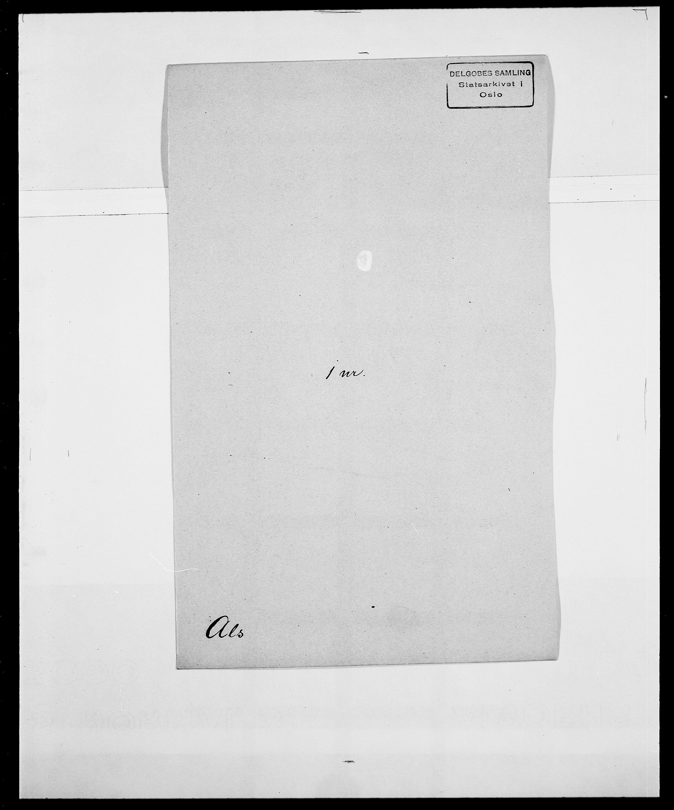 SAO, Delgobe, Charles Antoine - samling, D/Da/L0001: Aabye - Angerman, s. 454