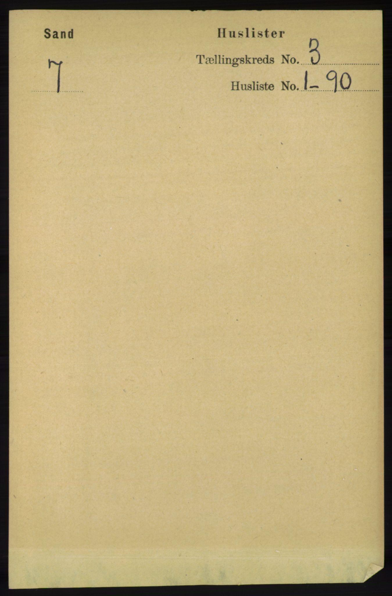 RA, Folketelling 1891 for 1136 Sand herred, 1891, s. 577