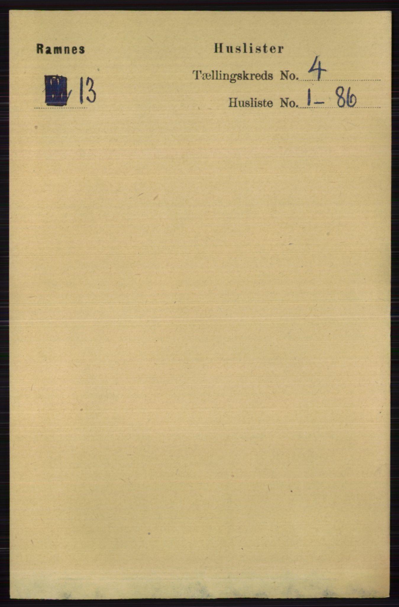 RA, Folketelling 1891 for 0718 Ramnes herred, 1891, s. 1859