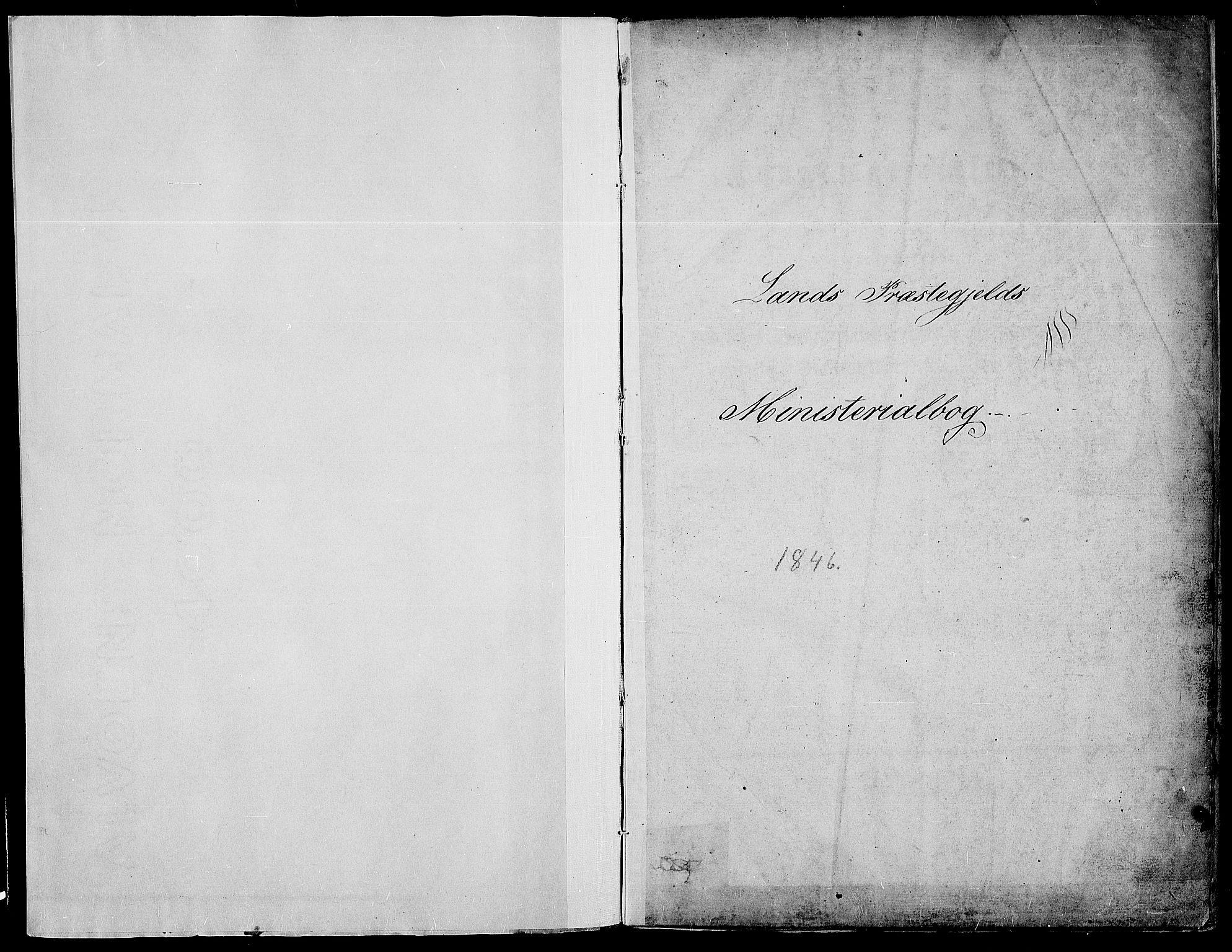 SAH, Land prestekontor, Ministerialbok nr. 8, 1830-1846