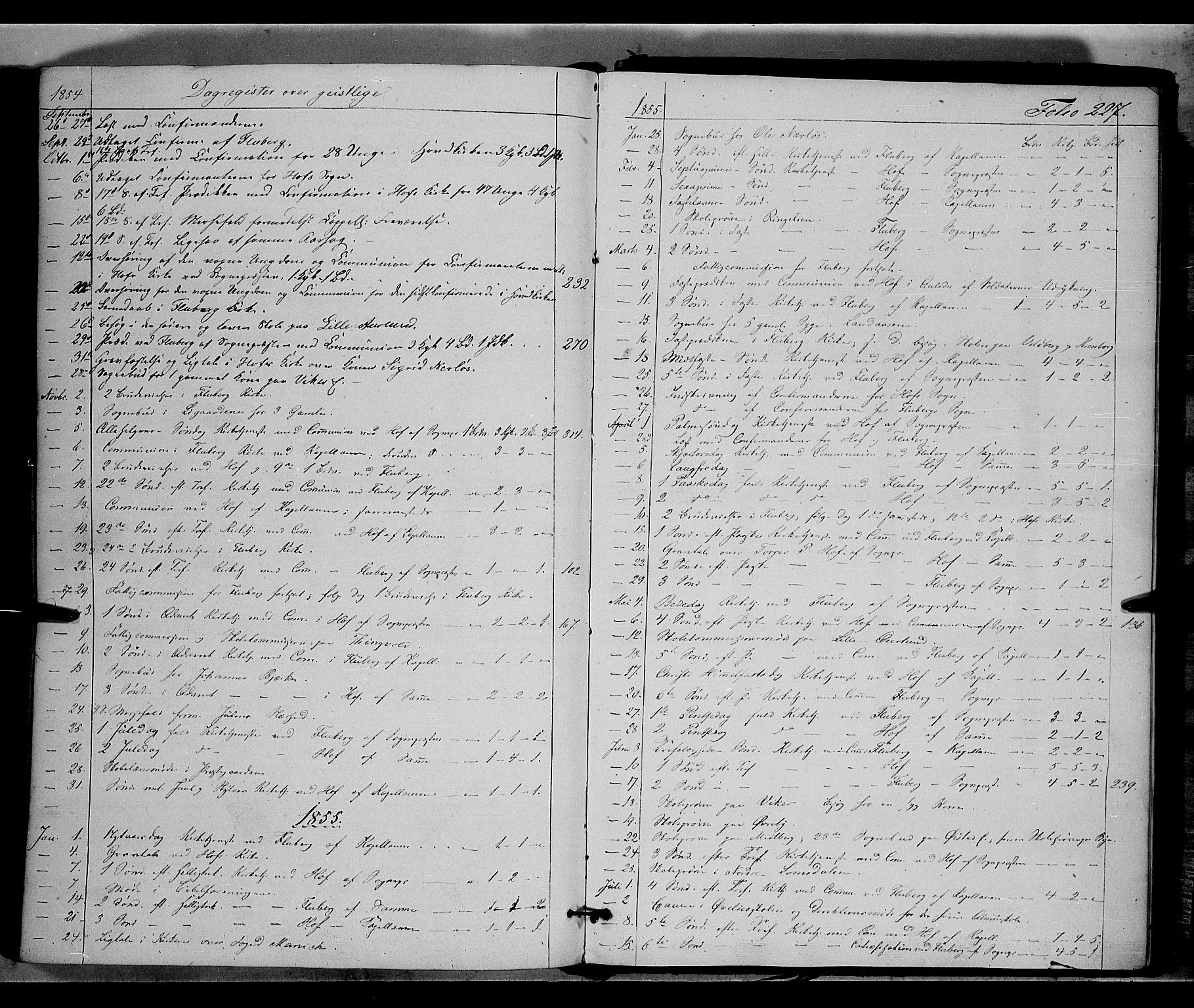 SAH, Land prestekontor, Ministerialbok nr. 9, 1847-1859, s. 227