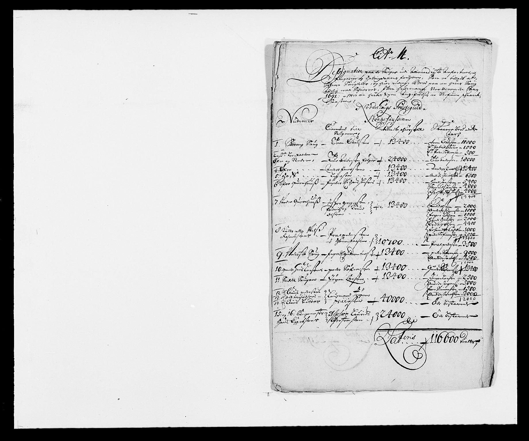 RA, Rentekammeret inntil 1814, Reviderte regnskaper, Fogderegnskap, R21/L1448: Fogderegnskap Ringerike og Hallingdal, 1690-1692, s. 279