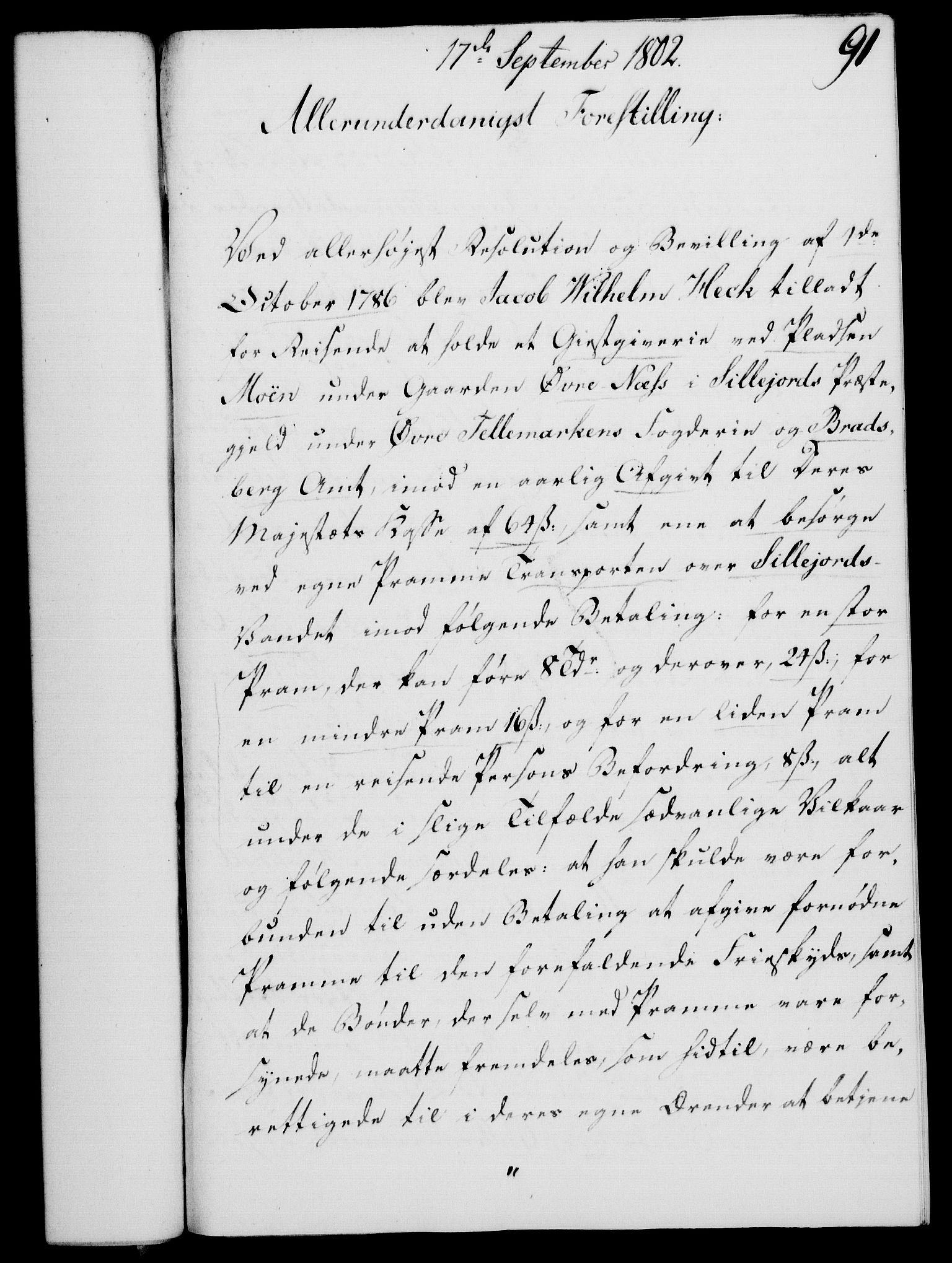 RA, Rentekammeret, Kammerkanselliet, G/Gf/Gfa/L0084: Norsk relasjons- og resolusjonsprotokoll (merket RK 52.84), 1802, s. 557