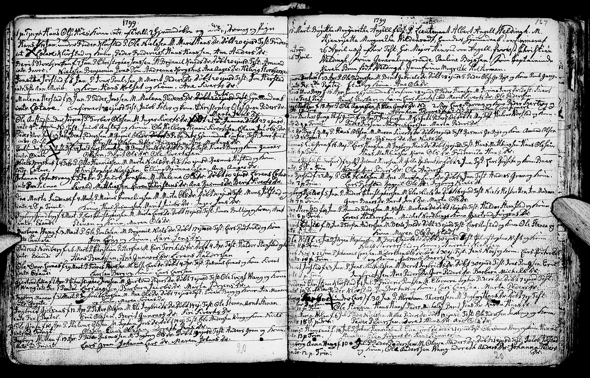SAT, Ministerialprotokoller, klokkerbøker og fødselsregistre - Nord-Trøndelag, 730/L0273: Ministerialbok nr. 730A02, 1762-1802, s. 167