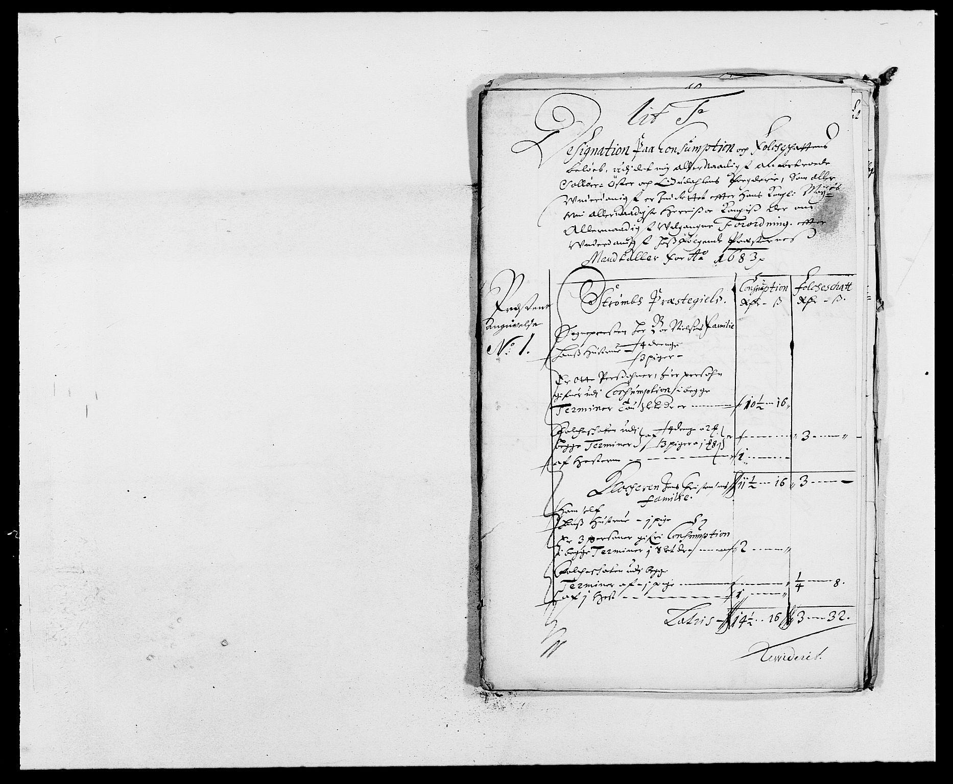 RA, Rentekammeret inntil 1814, Reviderte regnskaper, Fogderegnskap, R13/L0820: Fogderegnskap Solør, Odal og Østerdal, 1683, s. 206