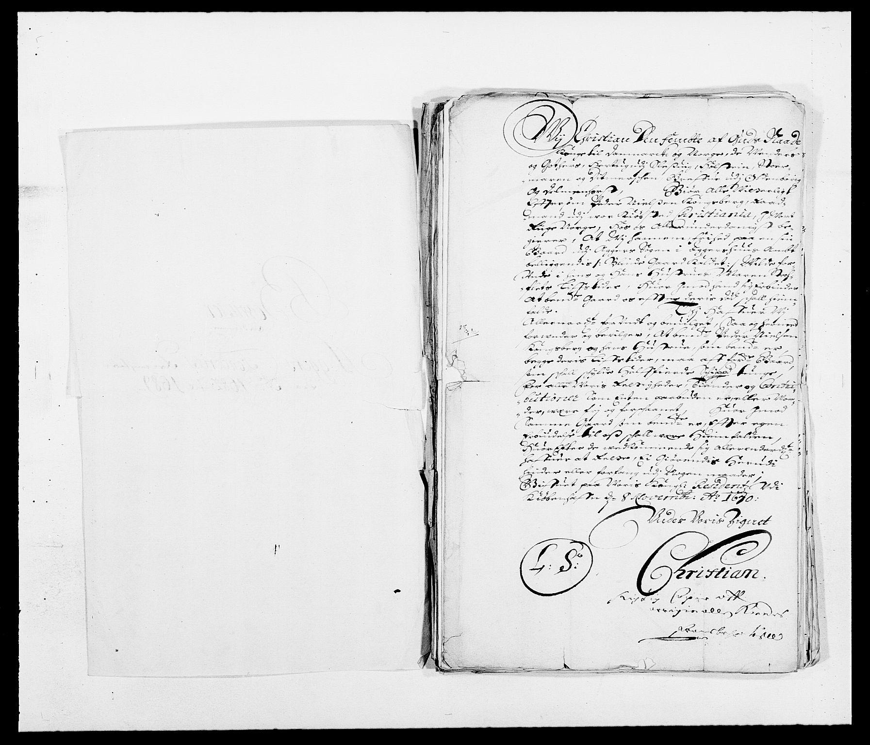 RA, Rentekammeret inntil 1814, Reviderte regnskaper, Fogderegnskap, R08/L0424: Fogderegnskap Aker, 1682-1689, s. 3