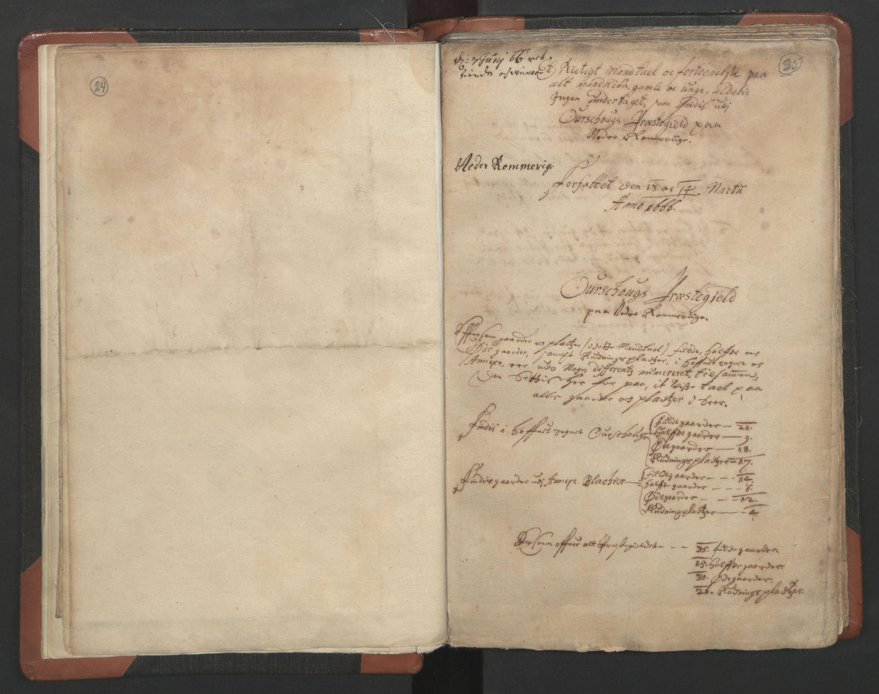 RA, Sogneprestenes manntall 1664-1666, nr. 3: Nedre Romerike prosti, 1664-1666, s. 24-25