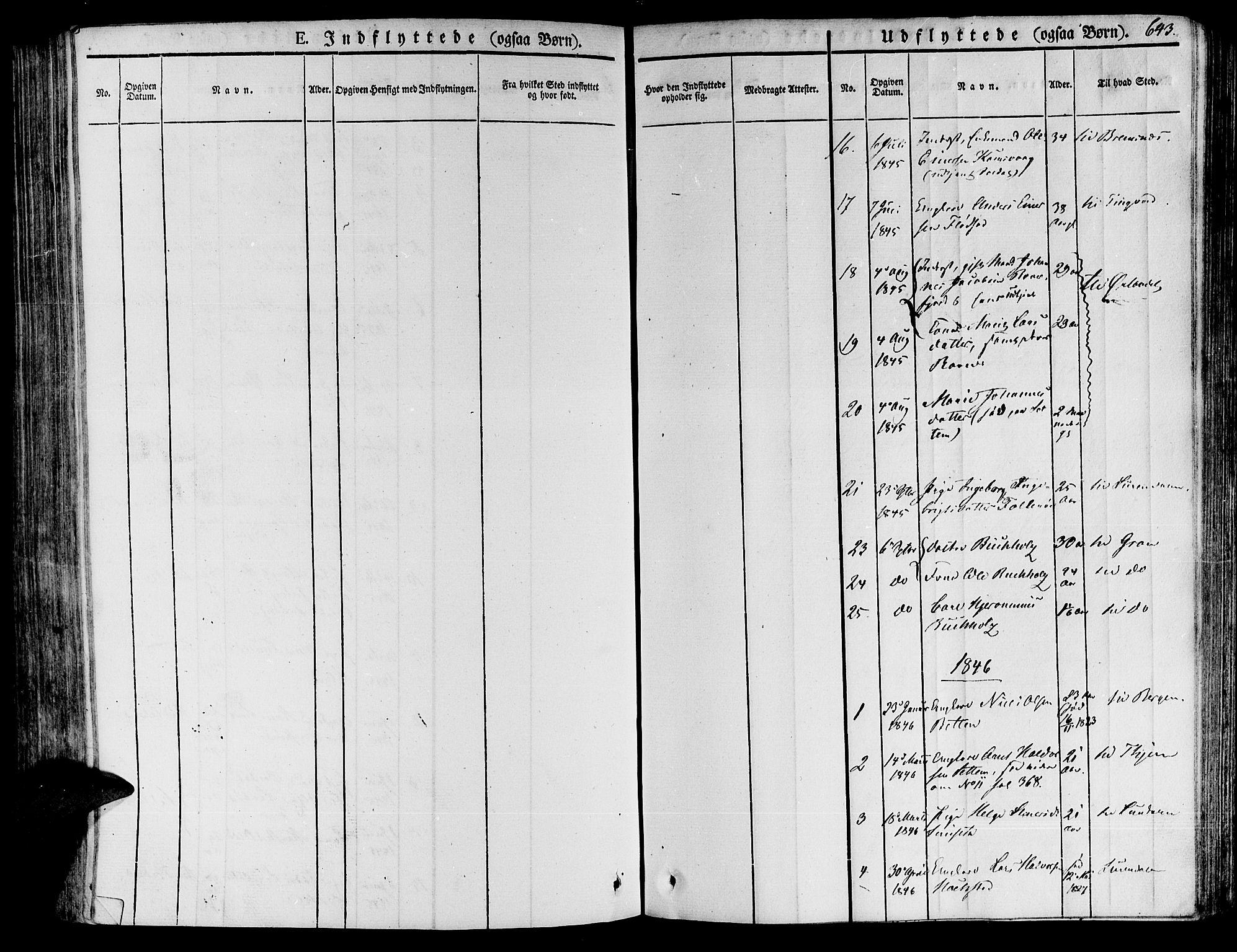SAT, Ministerialprotokoller, klokkerbøker og fødselsregistre - Møre og Romsdal, 592/L1024: Ministerialbok nr. 592A03 /1, 1831-1849, s. 643