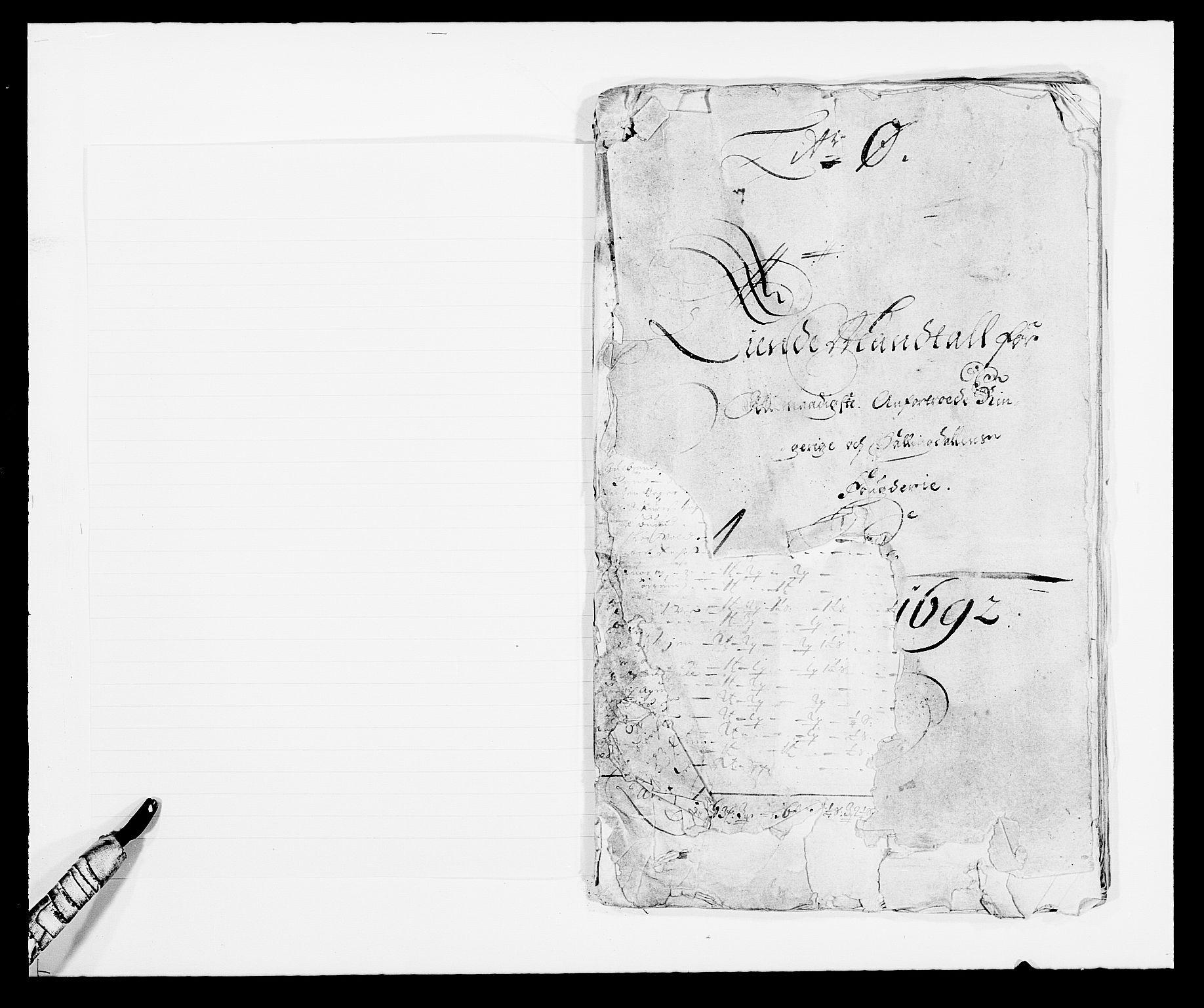 RA, Rentekammeret inntil 1814, Reviderte regnskaper, Fogderegnskap, R21/L1449: Fogderegnskap Ringerike og Hallingdal, 1690-1692, s. 161