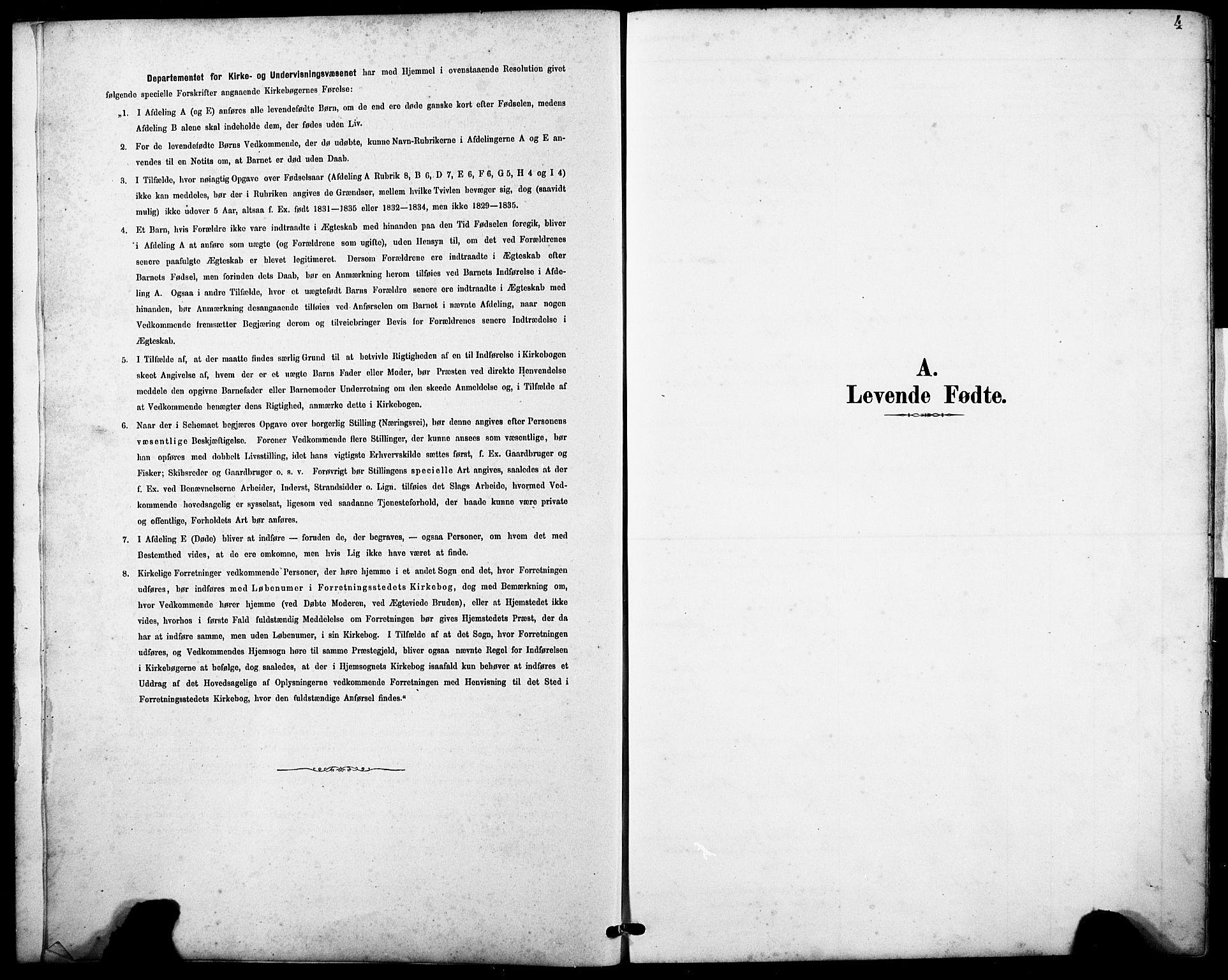 SAB, Askvoll sokneprestembete, H/Hab/Haba/L0003: Klokkerbok nr. A 3, 1886-1928, s. 4