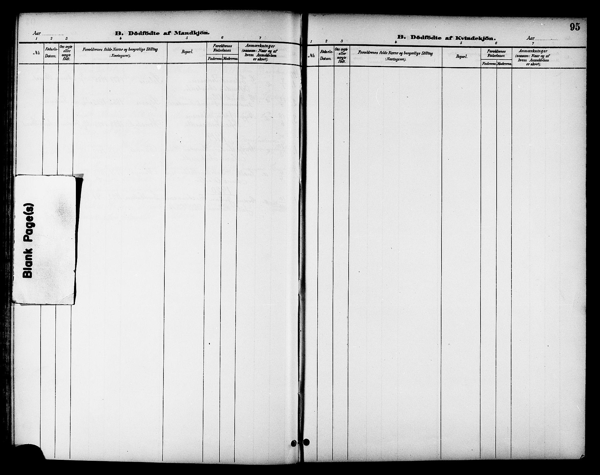 SAT, Ministerialprotokoller, klokkerbøker og fødselsregistre - Sør-Trøndelag, 655/L0688: Klokkerbok nr. 655C04, 1899-1922, s. 95