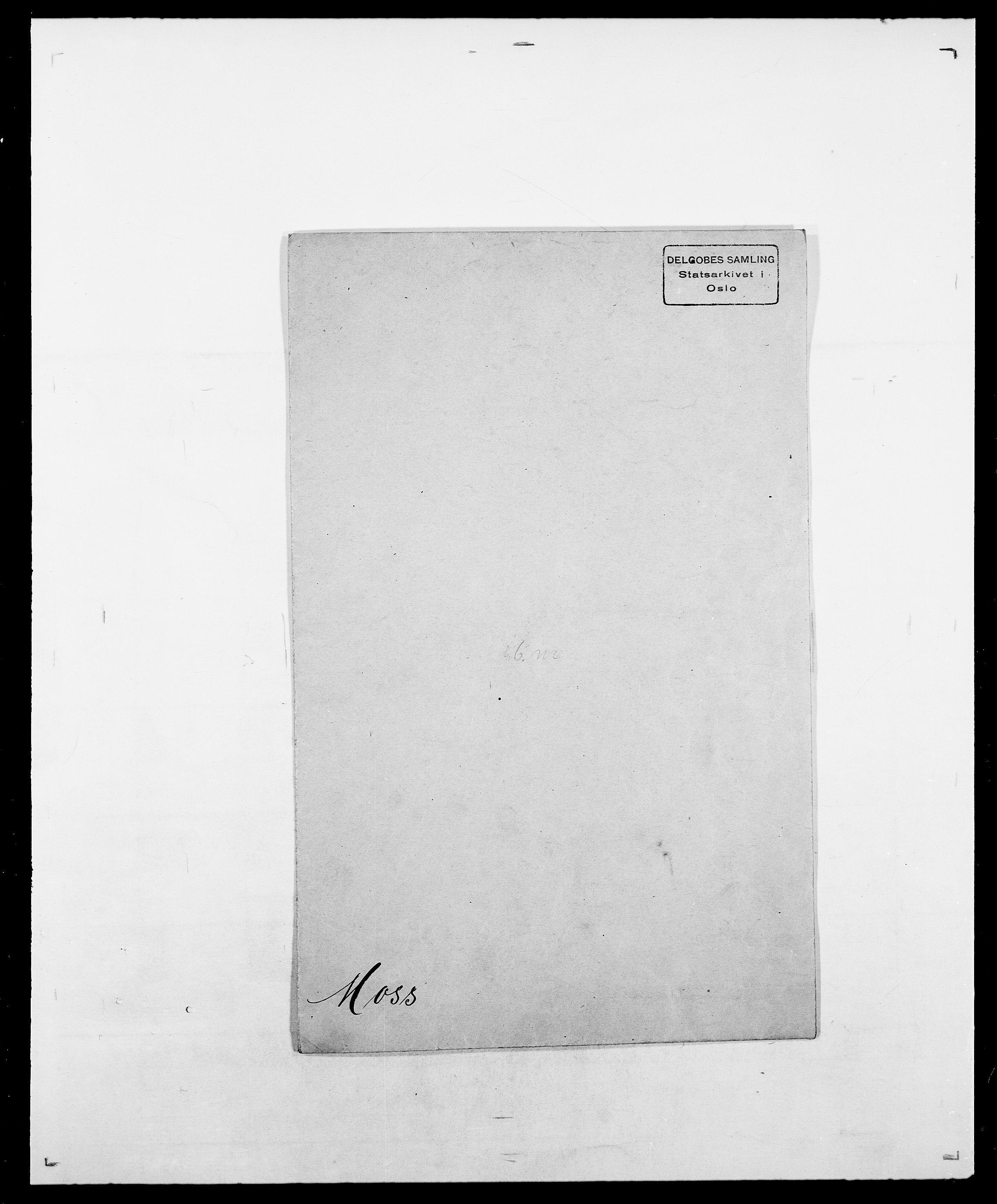 SAO, Delgobe, Charles Antoine - samling, D/Da/L0027: Morath - v. Møsting, s. 55