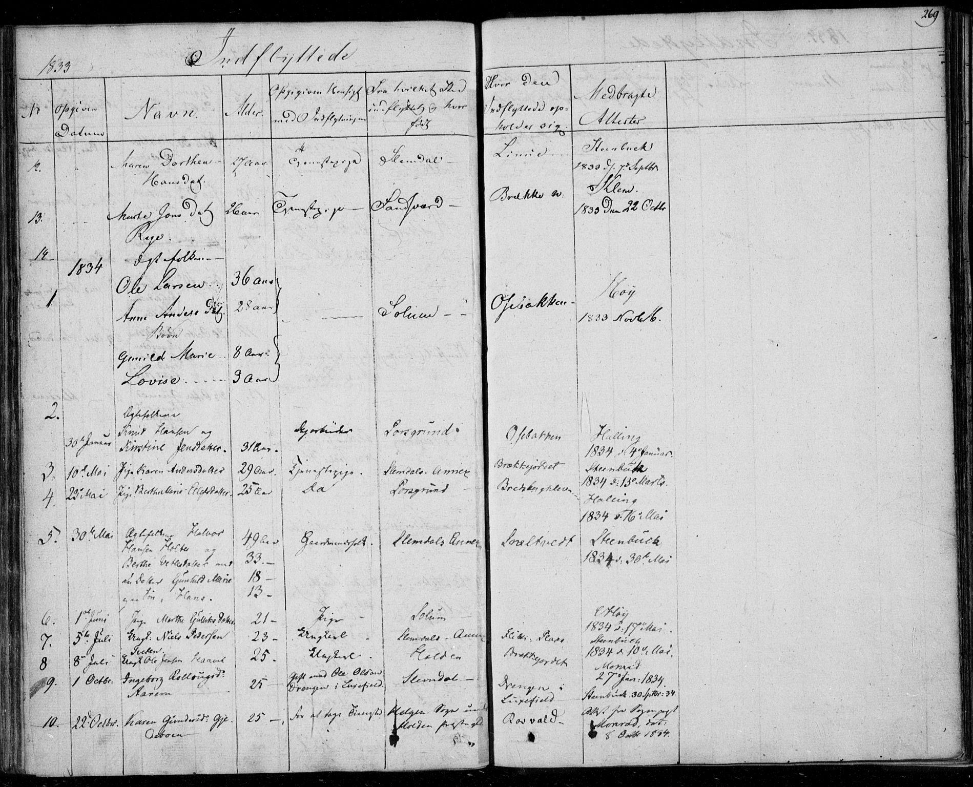 SAKO, Gjerpen kirkebøker, F/Fa/L0006: Ministerialbok nr. 6, 1829-1834, s. 269