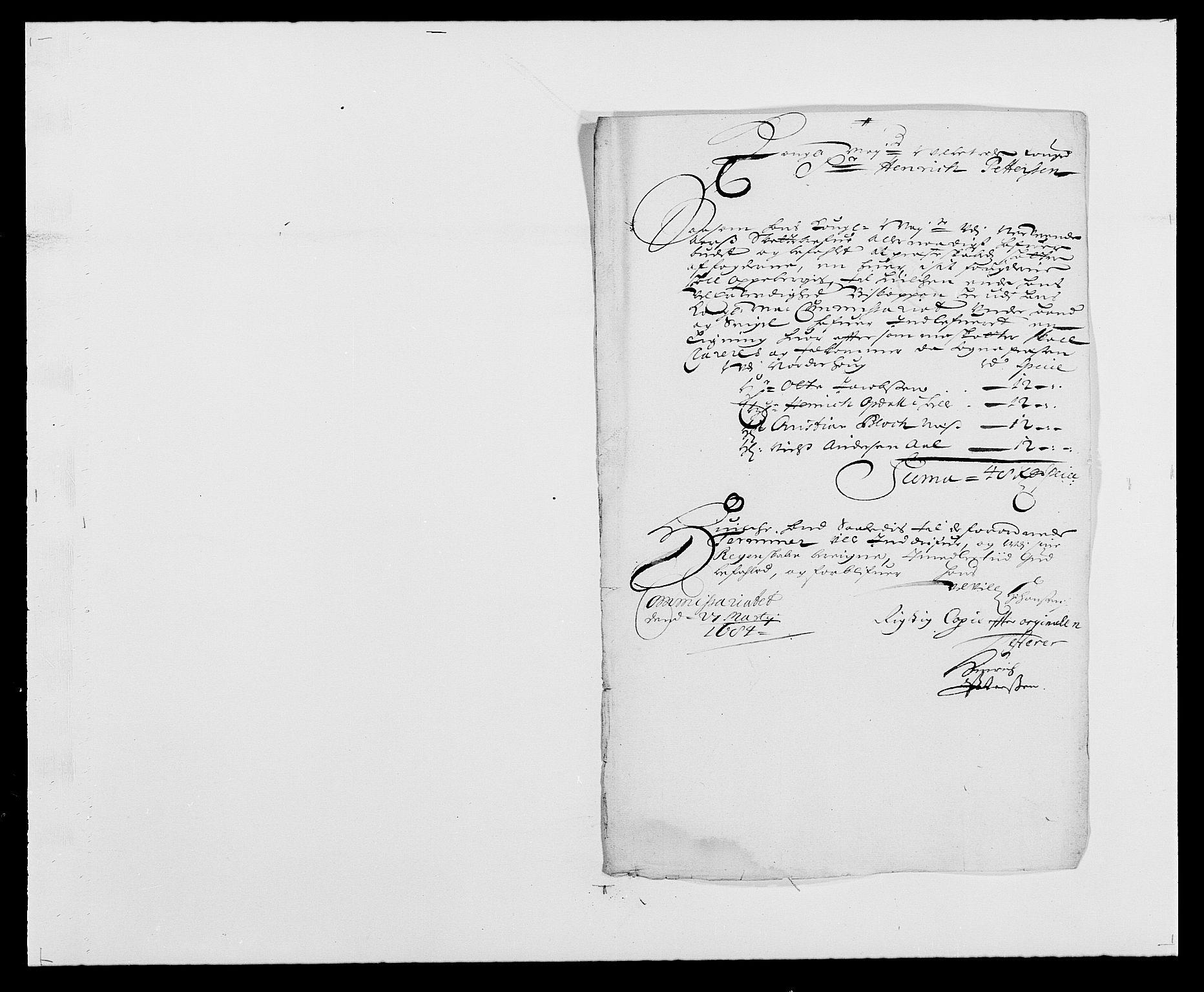RA, Rentekammeret inntil 1814, Reviderte regnskaper, Fogderegnskap, R21/L1446: Fogderegnskap Ringerike og Hallingdal, 1683-1686, s. 265